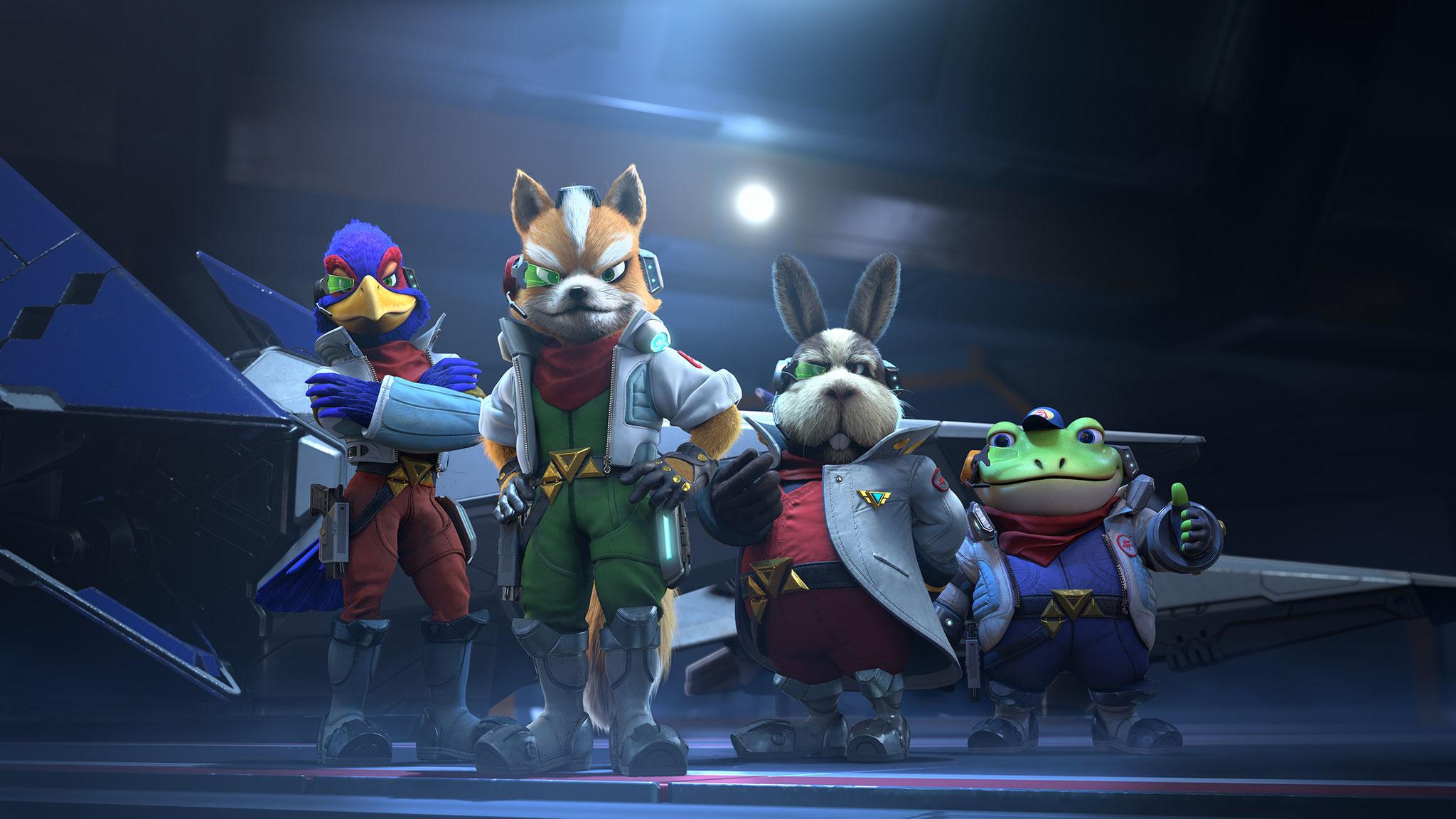 """Wer """"Starlink"""" für die Switch kauft, bekommt anstelle der sonst üblichen Starter-Pack-Ausstattung den Nintendo-Helden Fox McCloud und seinen Jäger geliefert"""