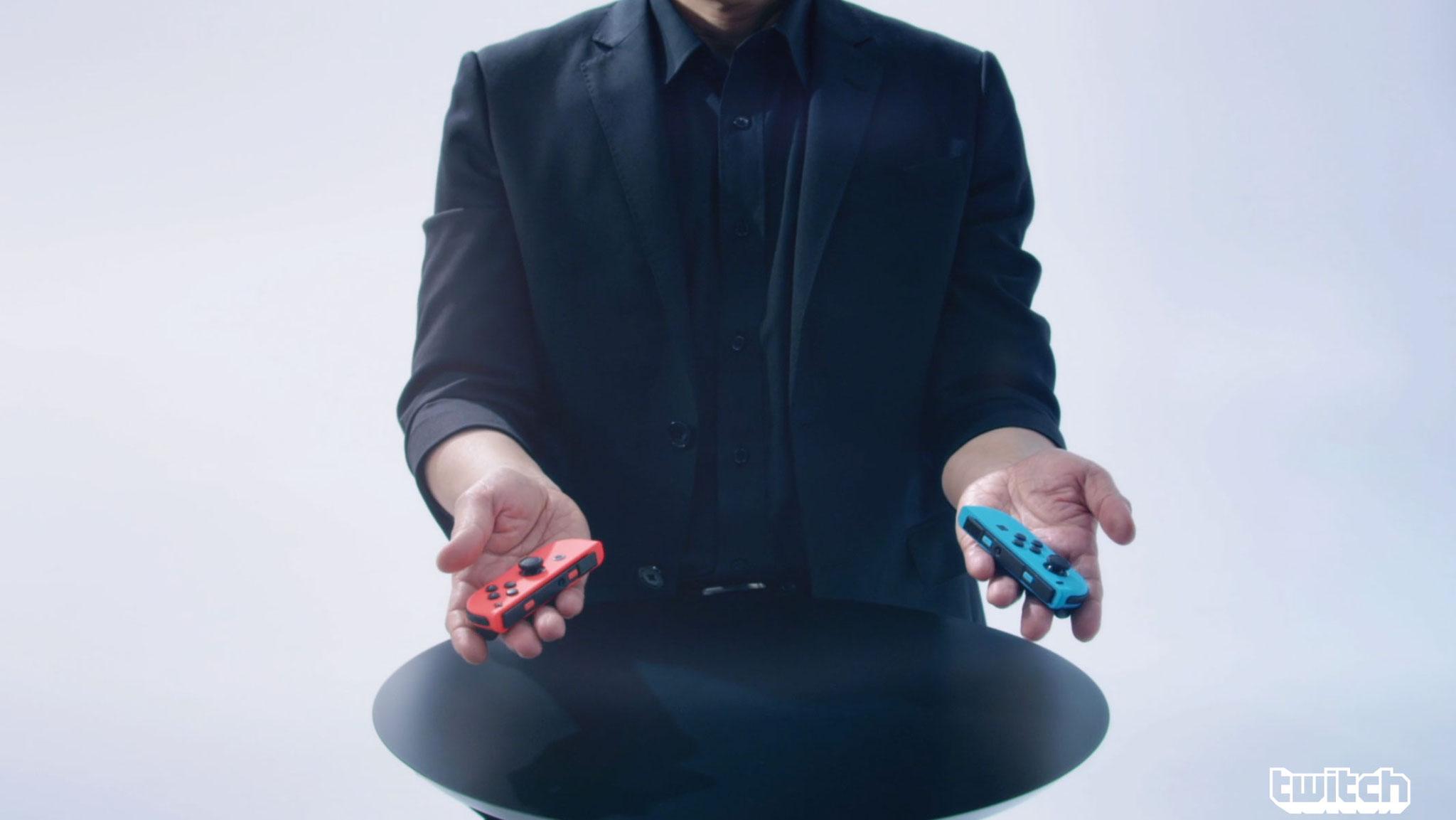 Typisch Nintendo: Die Joy-Cons gibt's auch in Bunt