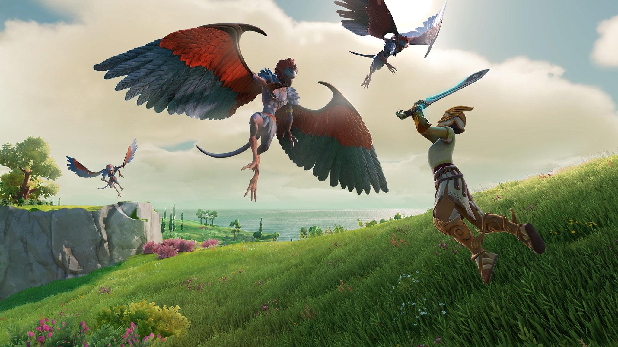 """Ein kurzer Trailer gewährte einen ersten Ausblick auf das neue Abenteuer der """"Assassin's Creed Odyssey""""-Macher: Auch """"Gods & Monsters"""" handelt im alten Griechenland."""