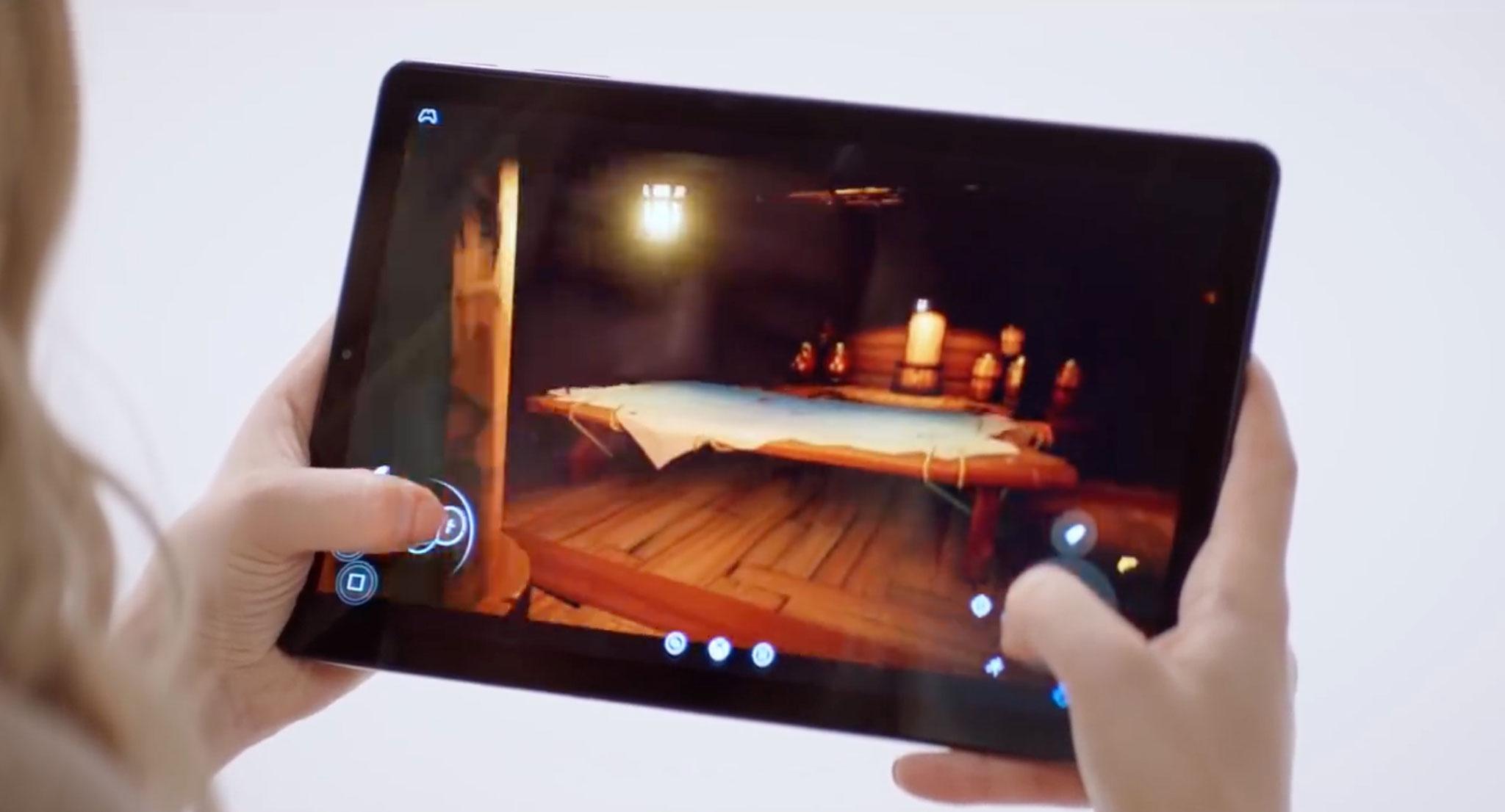 """Hat man mal keinen Controller zur Hand, bedient man Spiele wie """"Halo 5"""" einfach mit dem eigens dafür entwickelten Touchscreen-Interface."""