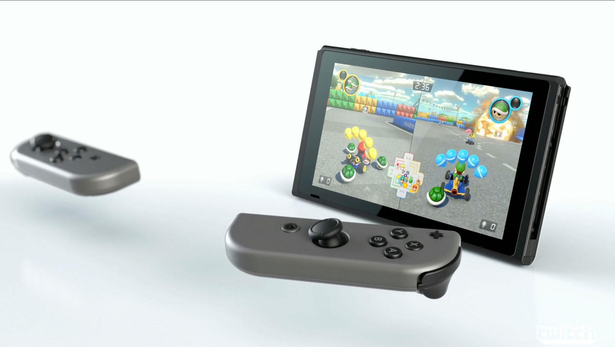 Die Switch im Tablet-Betrieb