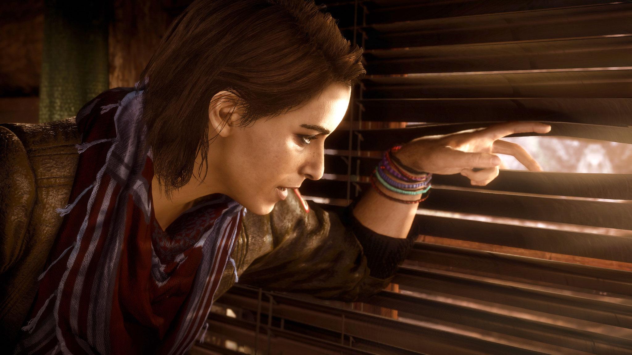 """Trägt nach """"Origins"""" und """"Odyssey"""" wieder die Spiel-Geschichte in der Gegenwart: Wissenschaftlerin Layla"""