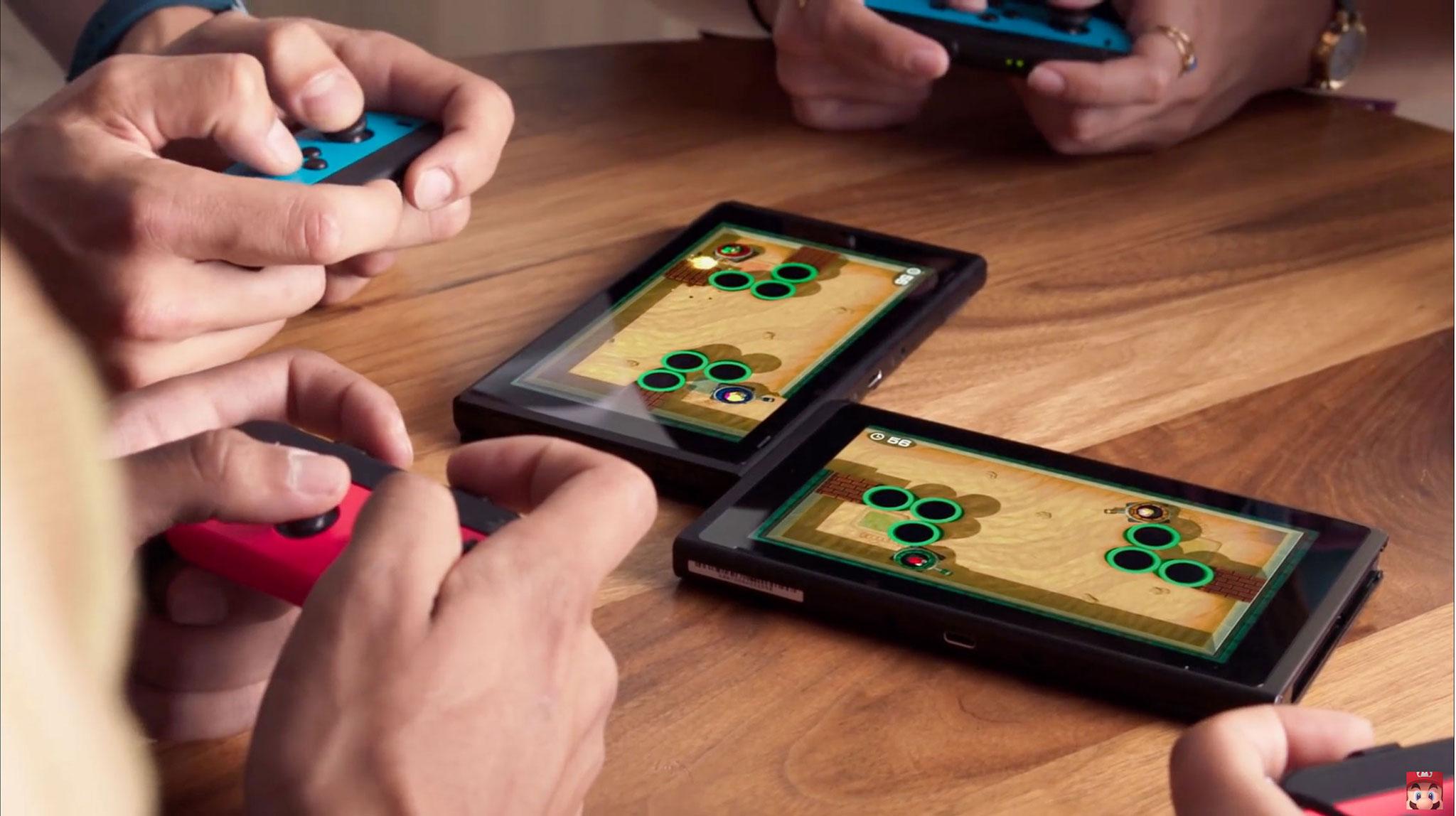 """Nutzt die Besonderheiten des Switch-Displays besonders innovativ und kommt auch in diesem Jahr: """"Super Mario Party""""."""