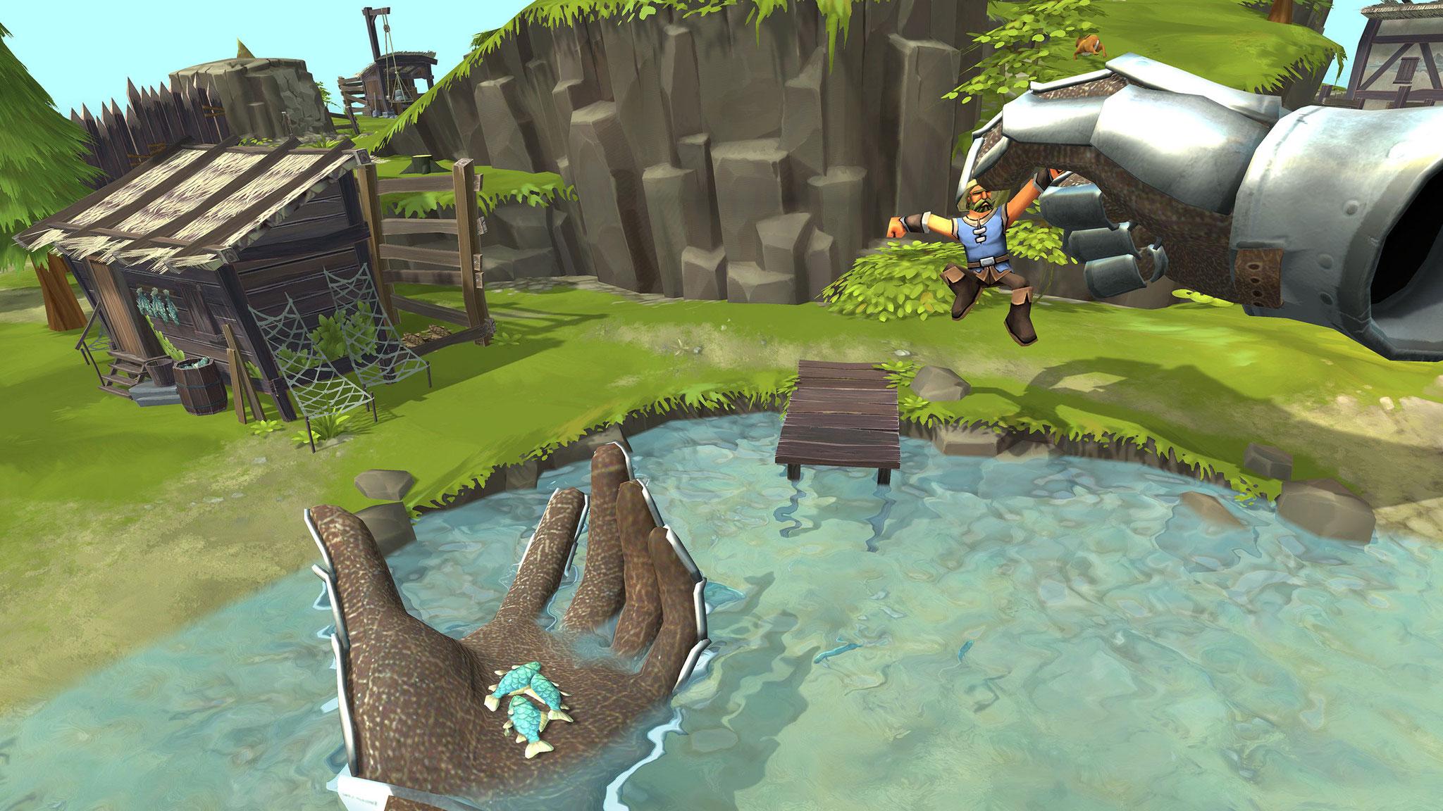 """Bestes Game-Design: """"Townsmen VR"""""""