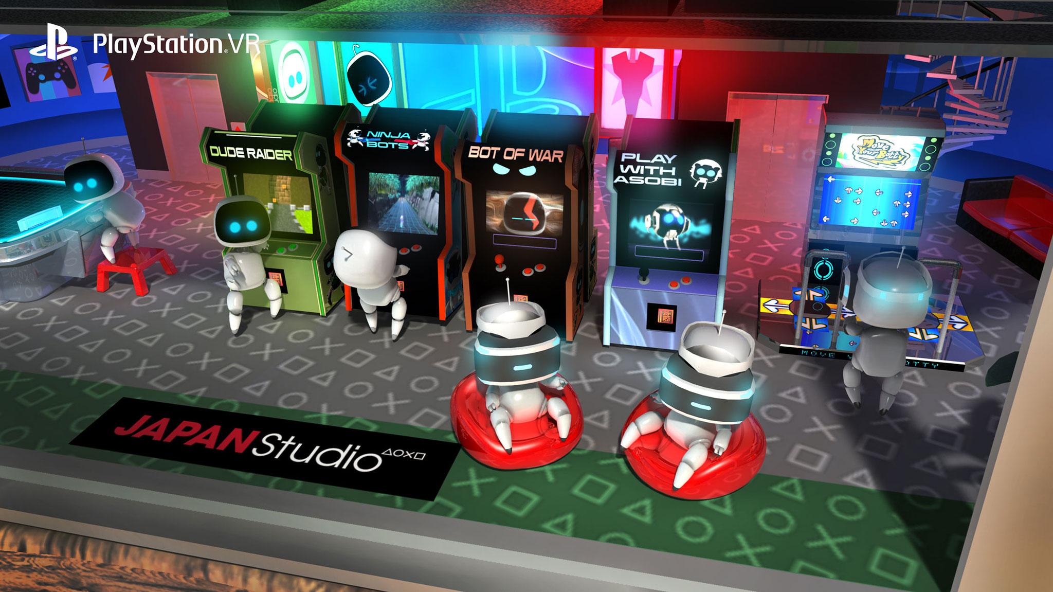 """Kostenlos, knuffig, clever: Die auf Mehrspieler-Spaß gebürstete Minispiel-Sammlung """"Playroom VR"""" lotet die Möglichkeiten des Mediums gekonnt aus."""
