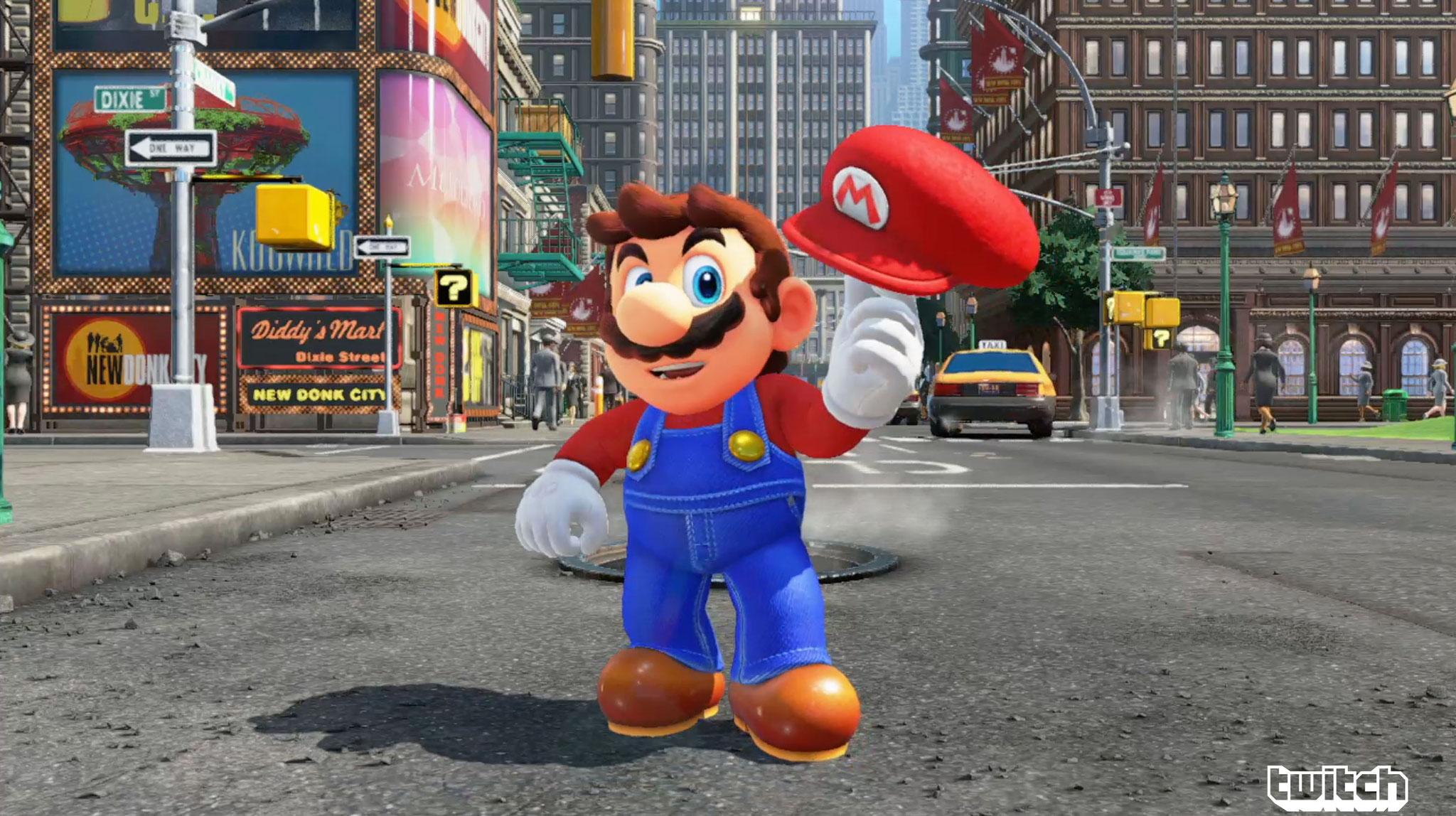"Mario in fotorealistischem Open-World-Umfeld: ""Super Mario Odyssey"""