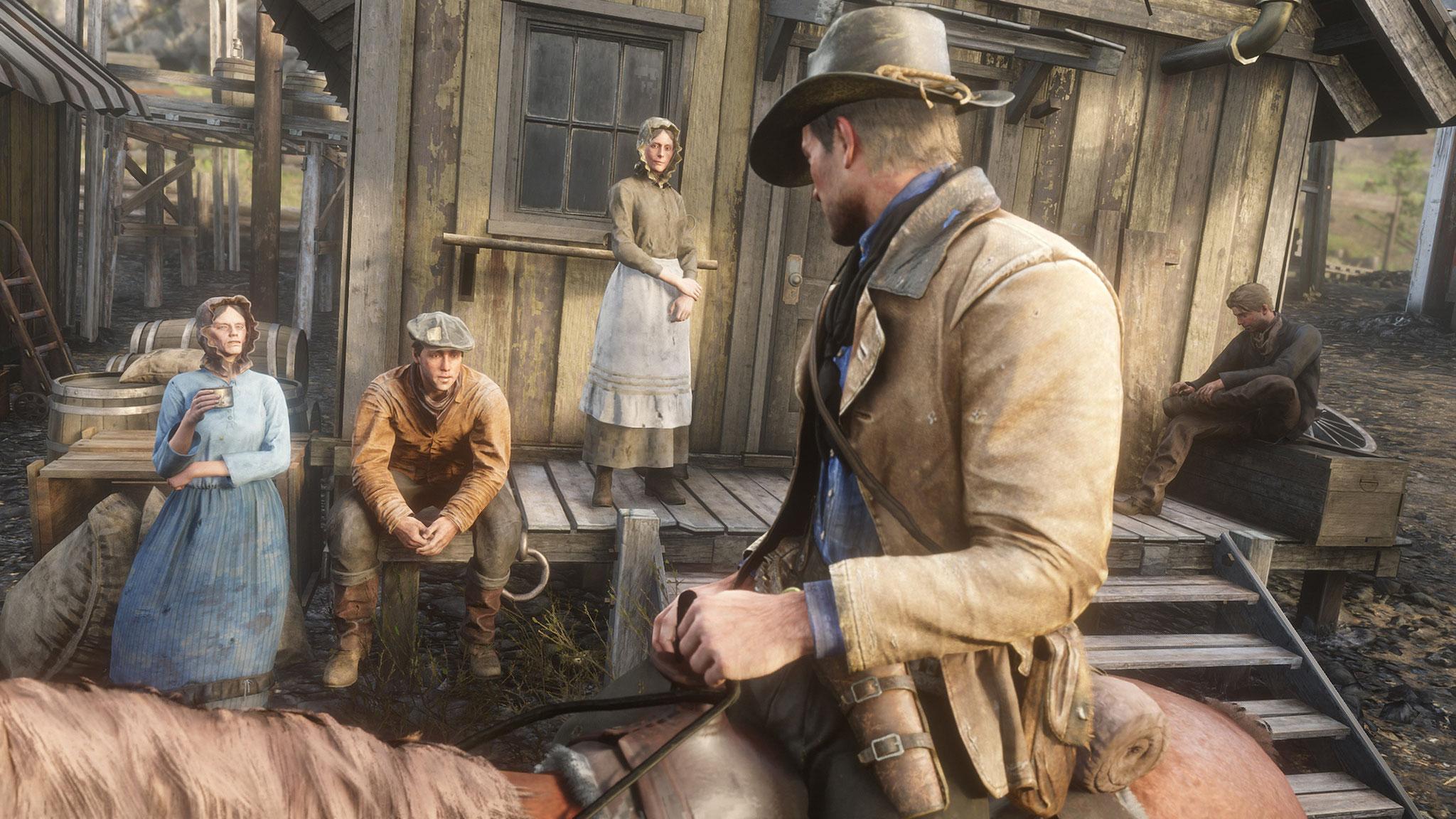 """Kein Grafik-Preis und auch keine Auszeichnung für das """"beste Spiel"""": """"Red Dead Redemption 2"""" war der Favorit des Abends, musste sich aber mit Sound-, Musik- und Story-Trophäen zufrieden geben."""