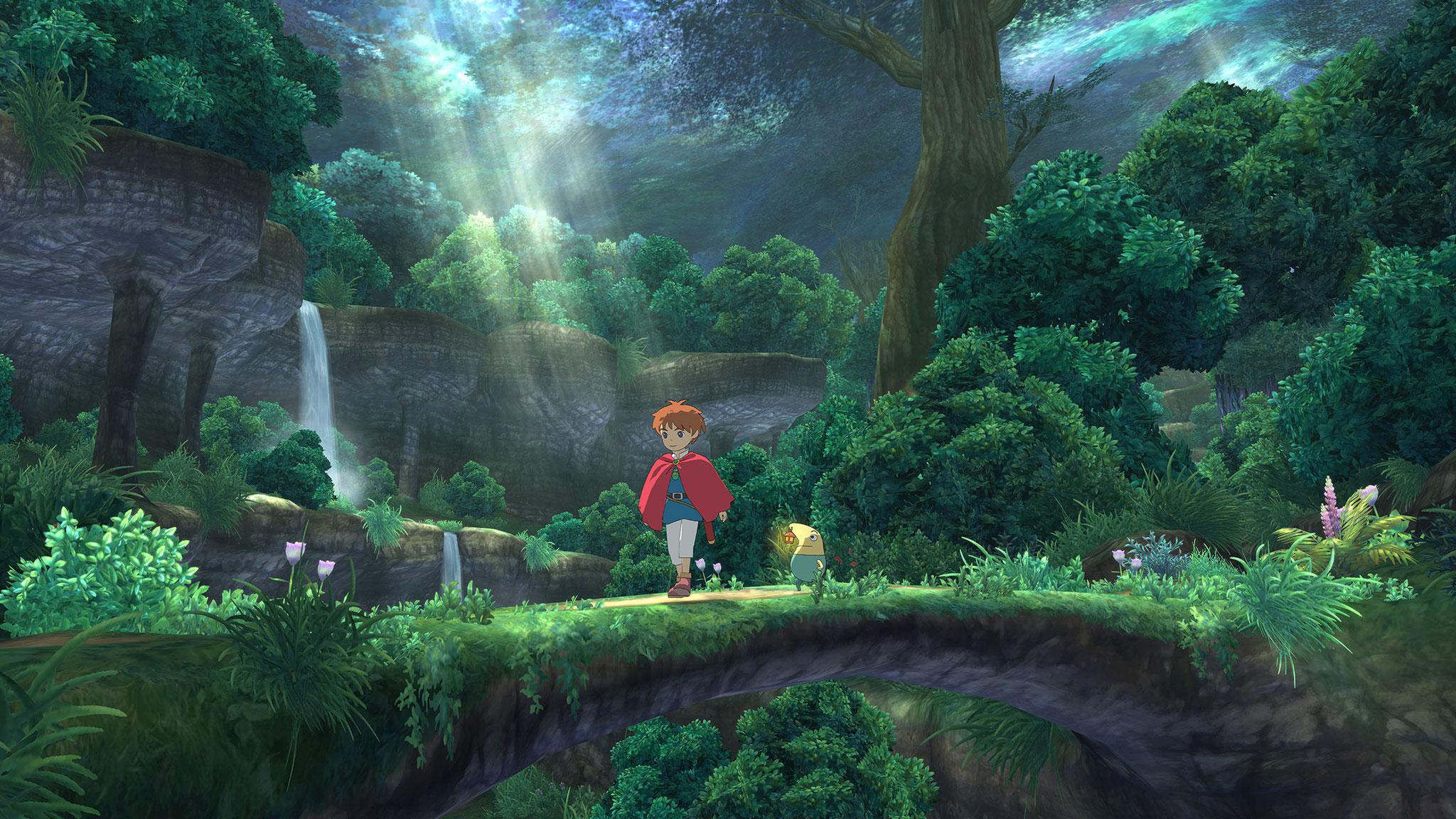 """""""Ni No Kuni: Der Fluch der weißen Königin"""" für PS3 schaffte es 2012 auch in den Westen. Spielerisch war die RPG- und Monster-Trainings-Kombi schon damals nicht mehr ganz auf der Höhe, aber sein Ghibli-Charme hat Spieler weltweit verzaubert."""