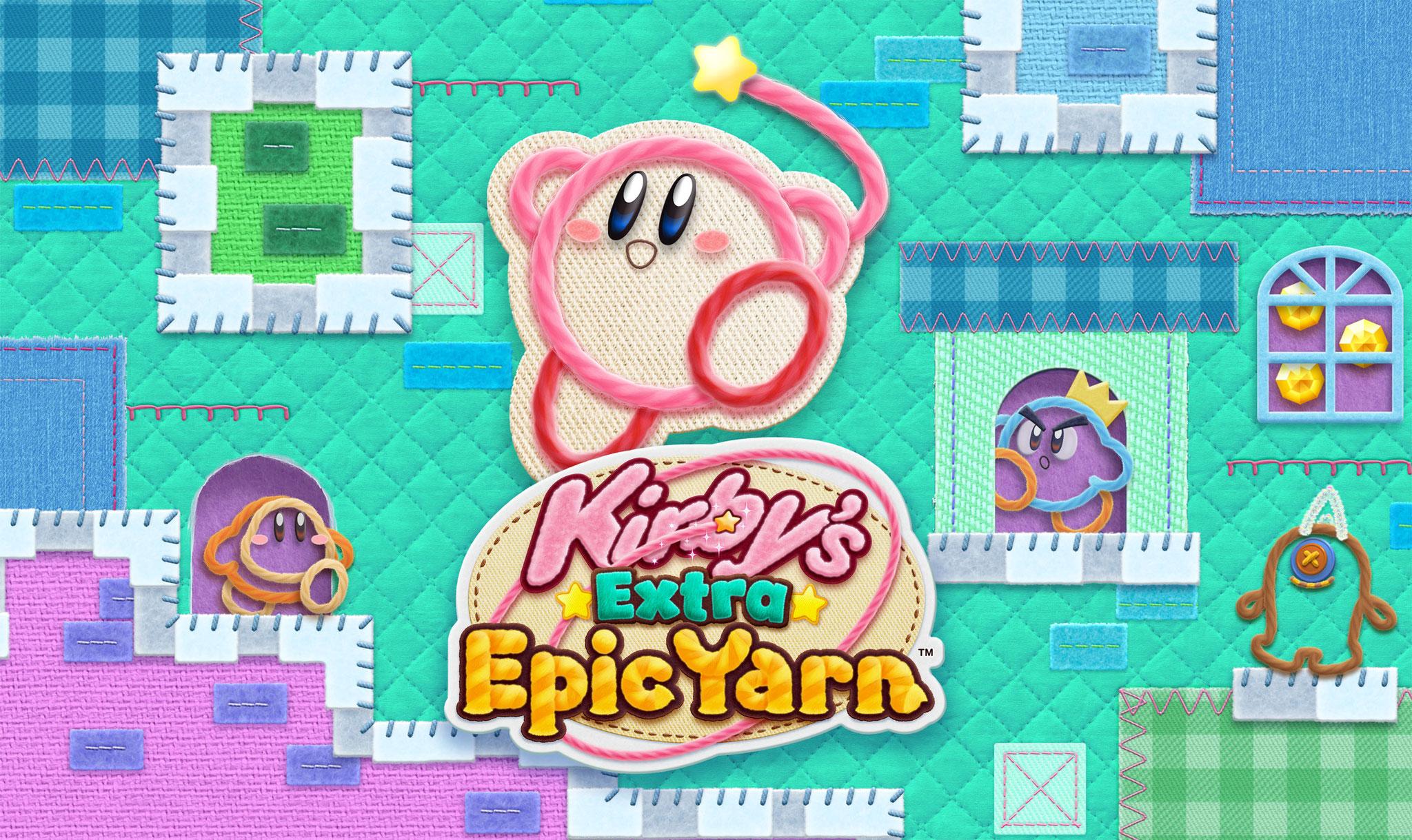 """Auch der 3DS wird noch immer versorgt: Eine """"Extra""""-Edition des WiiU-Hupfers """"Kirby und das magische Garn"""" soll Handheld-Spieler 2019 bei Laune halten."""