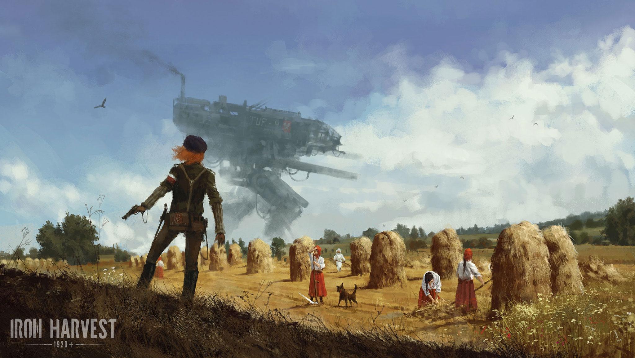 """King Arts' """"Iron Harvest"""" soll das scheintote Echtzeit-Strategie-Genre wiederbeleben. Die Maßnahmen dafür: Ein ungewöhnliches Steampunk-Szenario, das von..."""