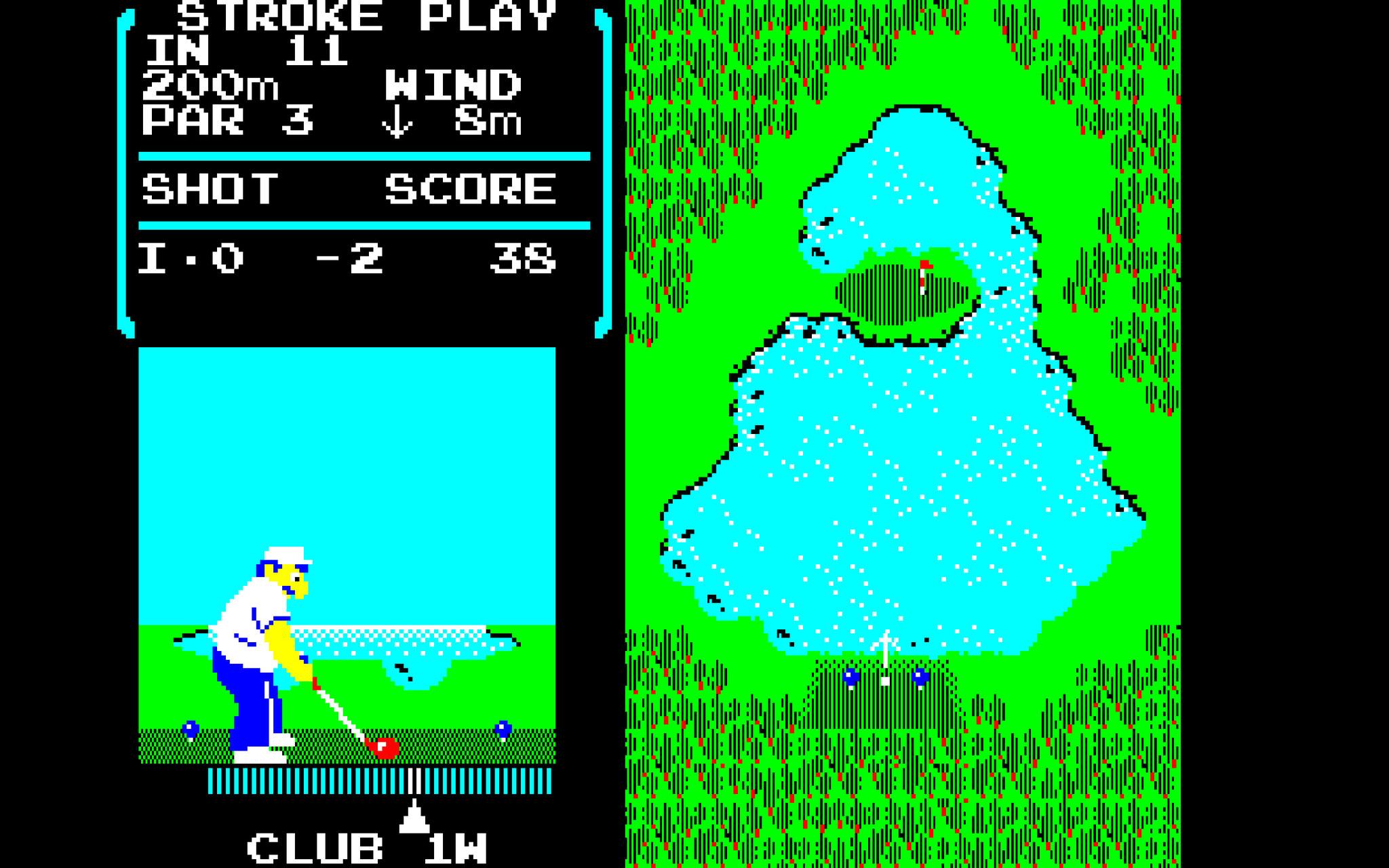 """Wurde vom verstorbenen Nintendo-Boss Satoru Iwata in jüngeren Jahren programmiert und 1984 für das 8Bit-NES veröffentlicht: """"Golf""""."""