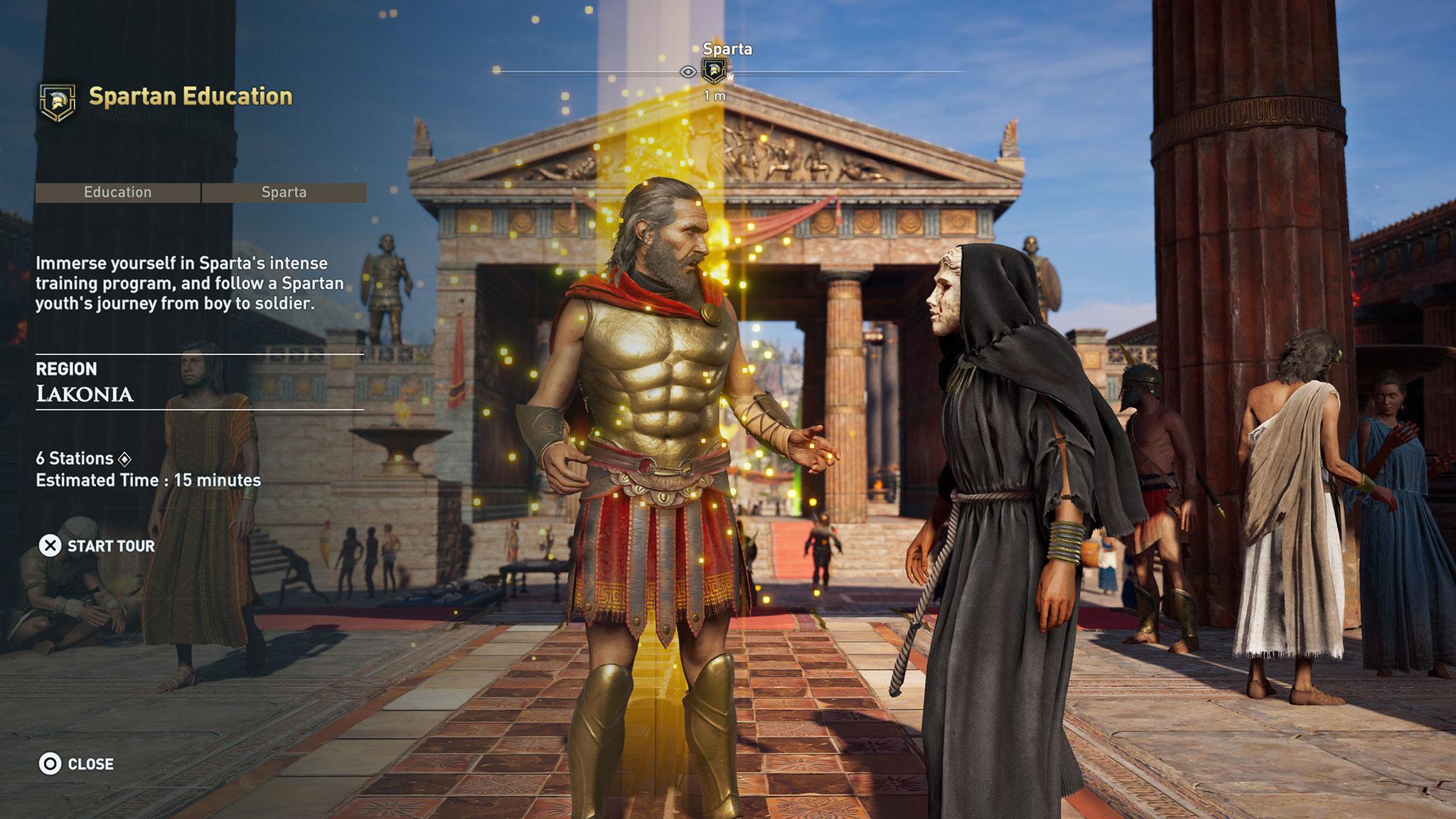 """""""Assassin's Creed Odyssey"""" bekommt wie sein Vorgänger """"Origins"""" einen Museums-Modus. Außerdem dürfen kreative Gamer bald ihre eigenen Abenteuer im alten Griechenland entwerfen."""