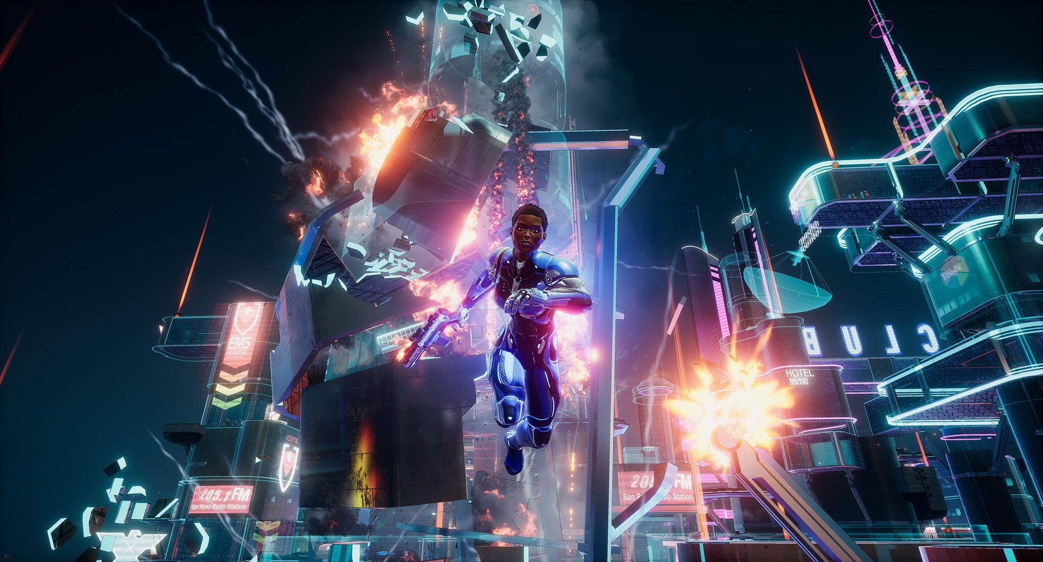 """Die Veröffentlichung von """"Crackdown 3"""" wurde auf den 15. Februar 2019 gelegt, außerdem bekommt der Titel einen speziellen Multiplayer-Modus: In der """"Wrecking Zone"""" ist der Name Programm. Leider spielt die brutale Vernichtungs-Orgie in Deutschland kaum ein"""