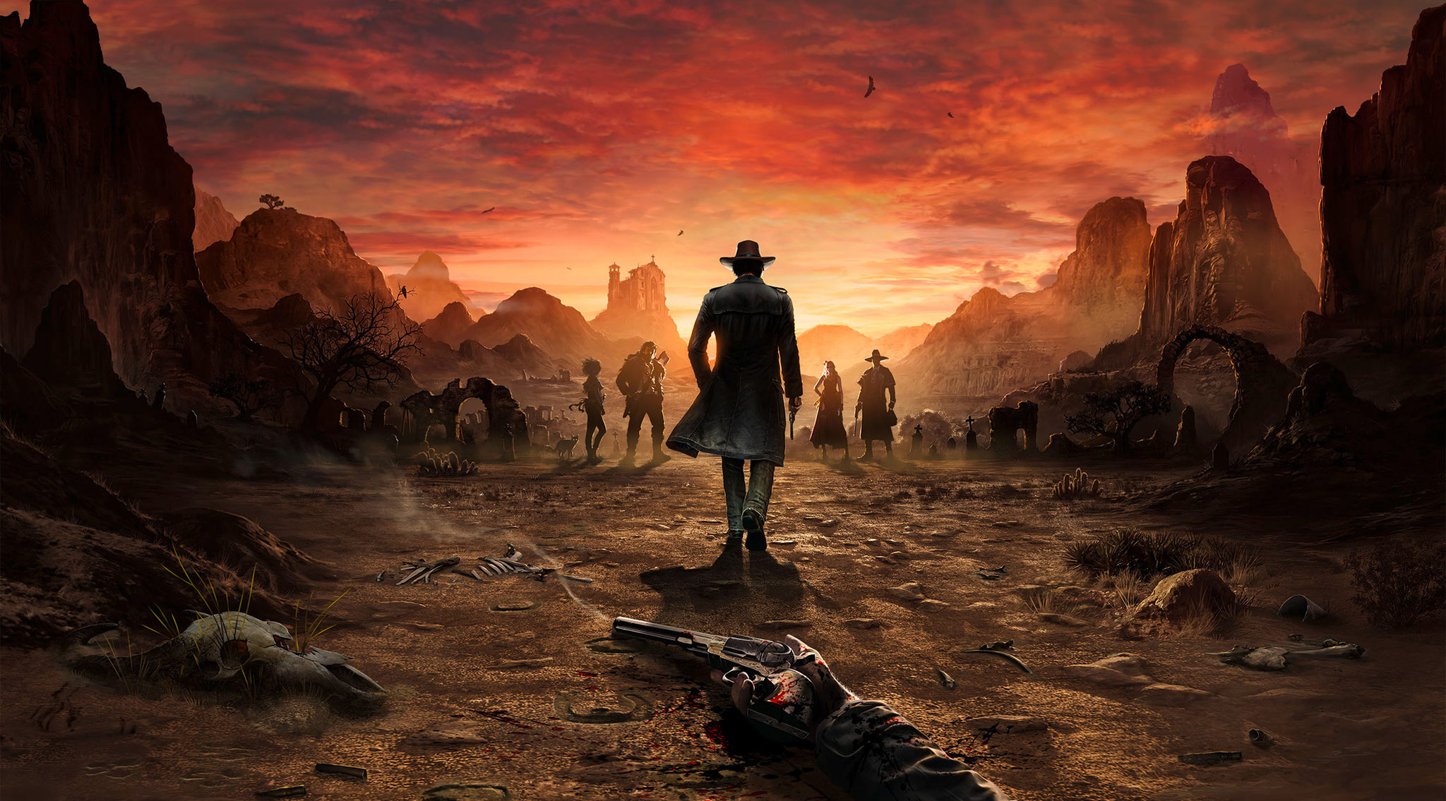 """Revolver-Duell im Morgengrauen: Auch """"Desperados 3"""" setzt üppig auf Wild-West-Klischees."""