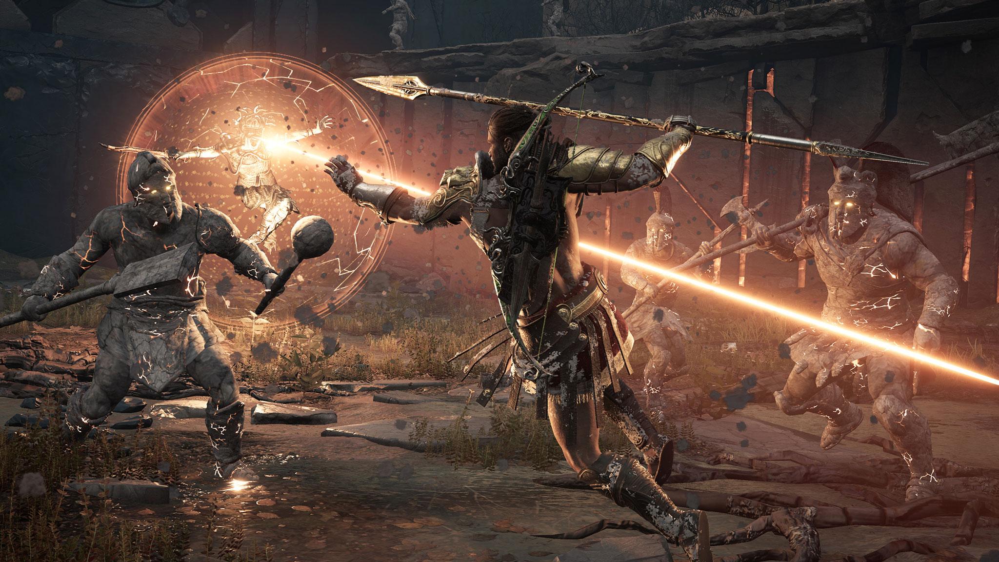 """Auch """"Odyssey"""" spielt mit mythologischen Motiven, aber die haben ihren Ursprung nicht in Göttern, sondern vorsintflutlicher Hoch-Technologie."""