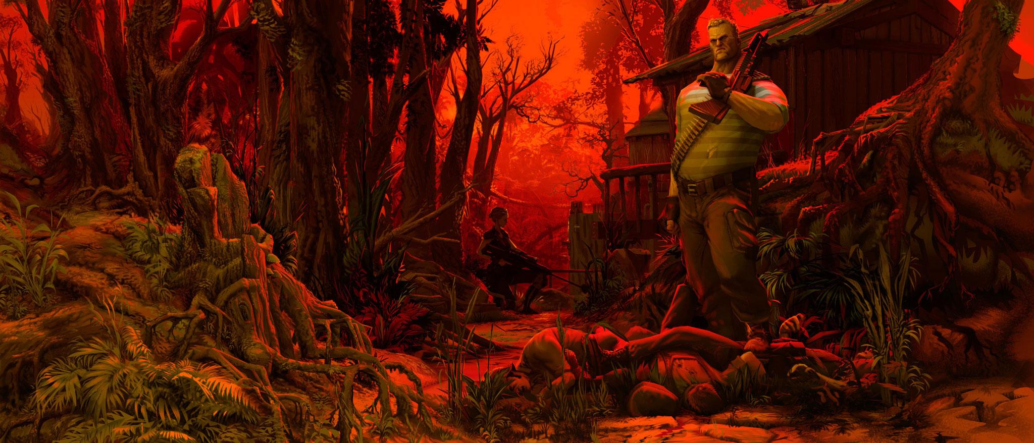 """Die alten """"Jagged Alliance""""-Games waren noch handgepixelt, doch mittlerweile hat sich der visuelle Stil des Abenteuers dramatisch verändert."""