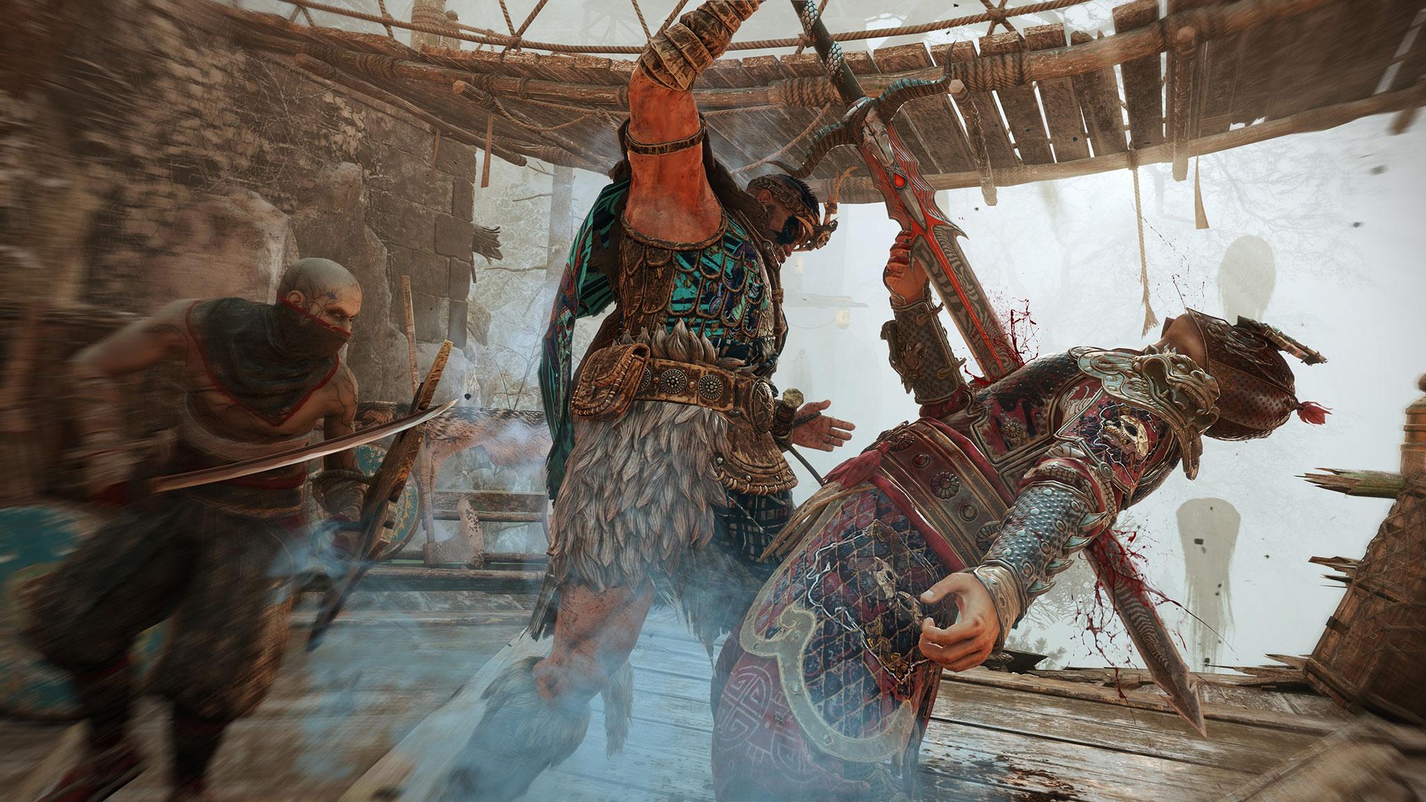 """Geisterhafte bis brutale Abenteuer in Asien erlaubt das zeitlich befristete """"For Honor""""-Event """"Shadows of Hitokiri."""