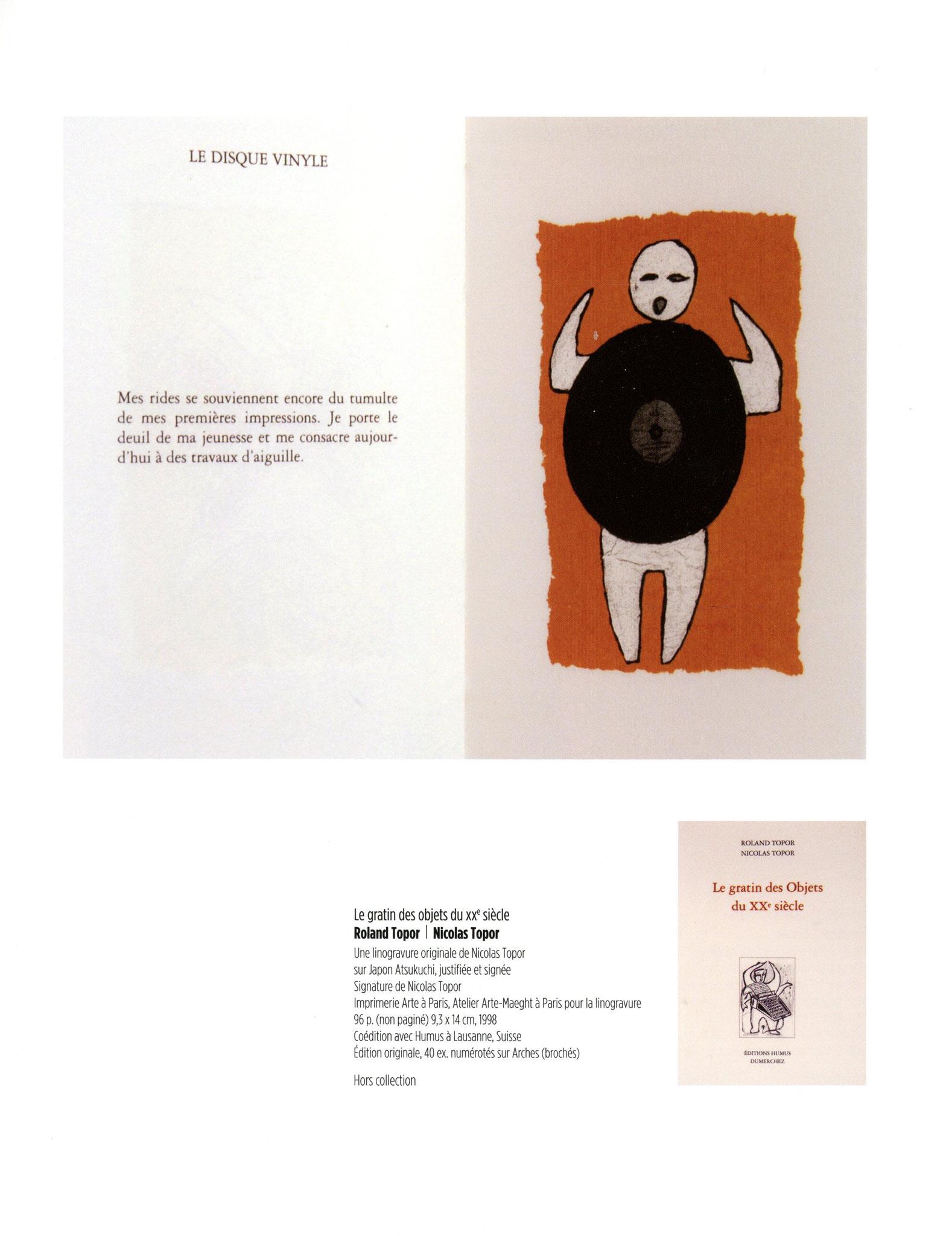 Le gratin des objets du XXème siècle - Roland Topor / Nicolas Topor