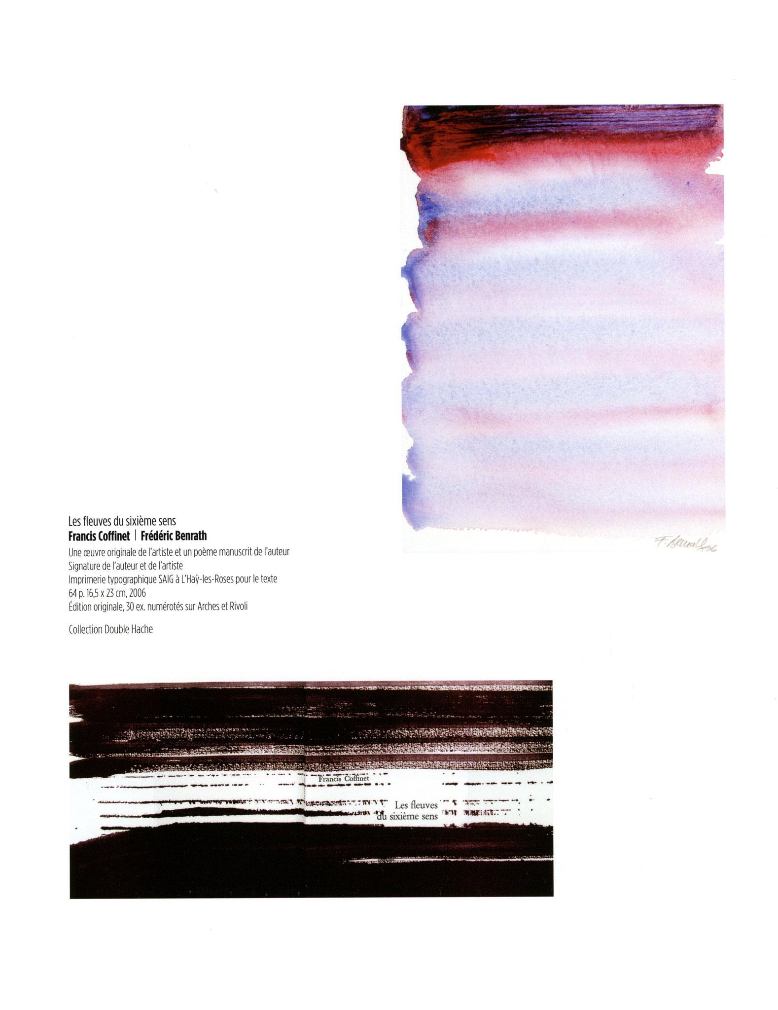 Les fleuves du sixième sens - Francis Coffinet / Frédéric Benrath