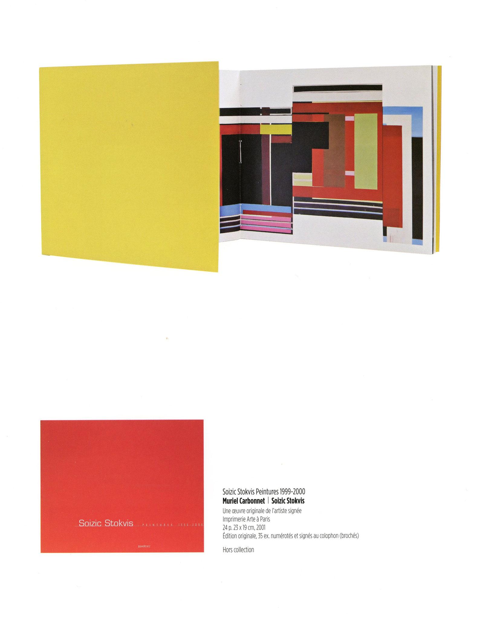Soizic Stokvis Peintures 1999-2000 - Muriel Carbonnet / Soizic Stokvis