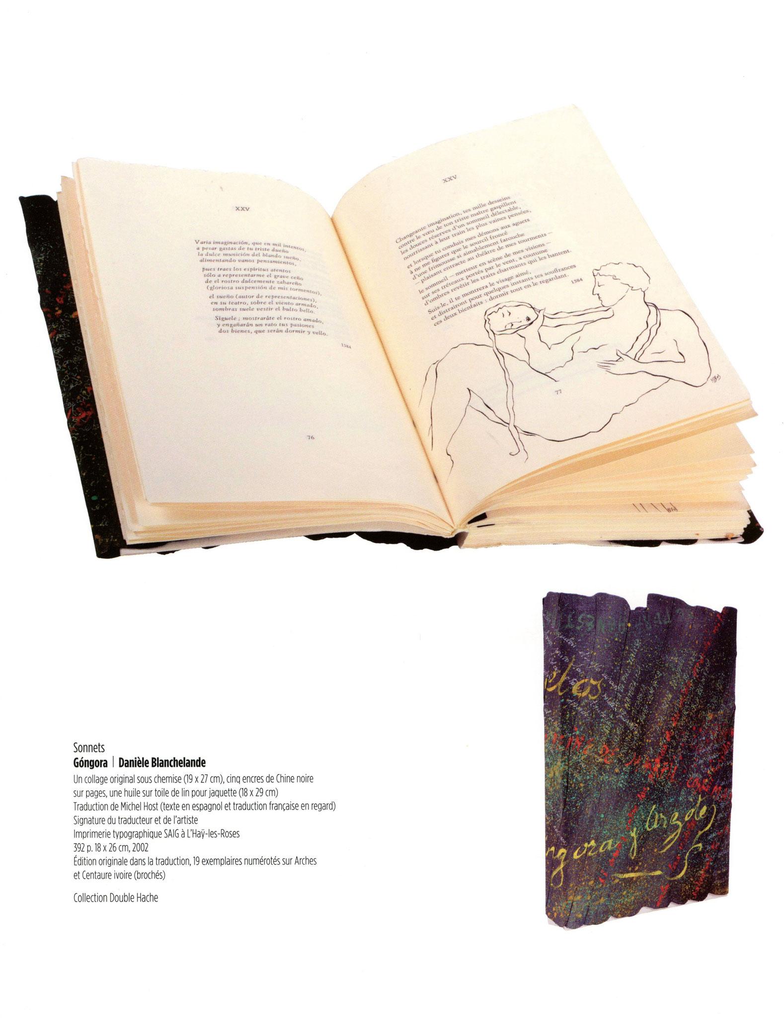 Sonnets - Góngora / Danièle Blanchelande