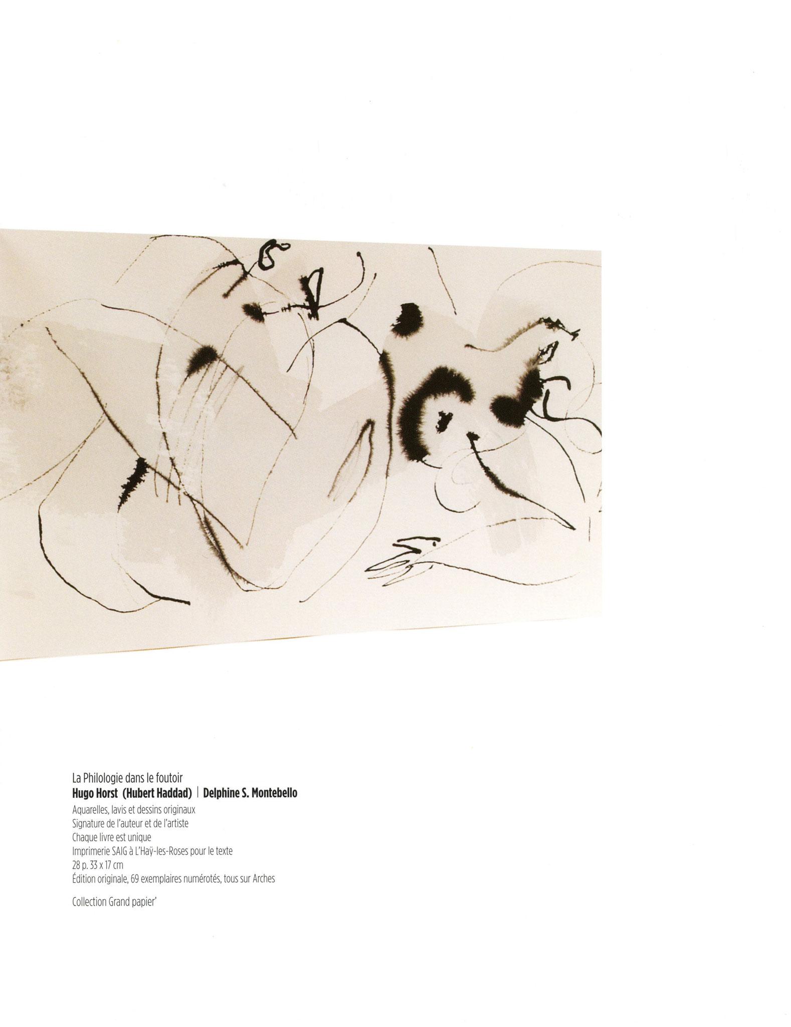 La Philosophie dans le foutoir - Hugo Horst (Hubert Haddad) / Delphine S. Montebello