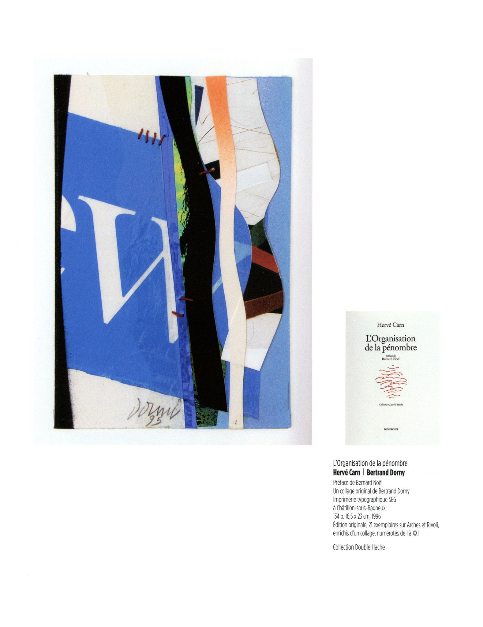 L'Organisation de la pénombre - Hervé Carn / Bertrand Dorny