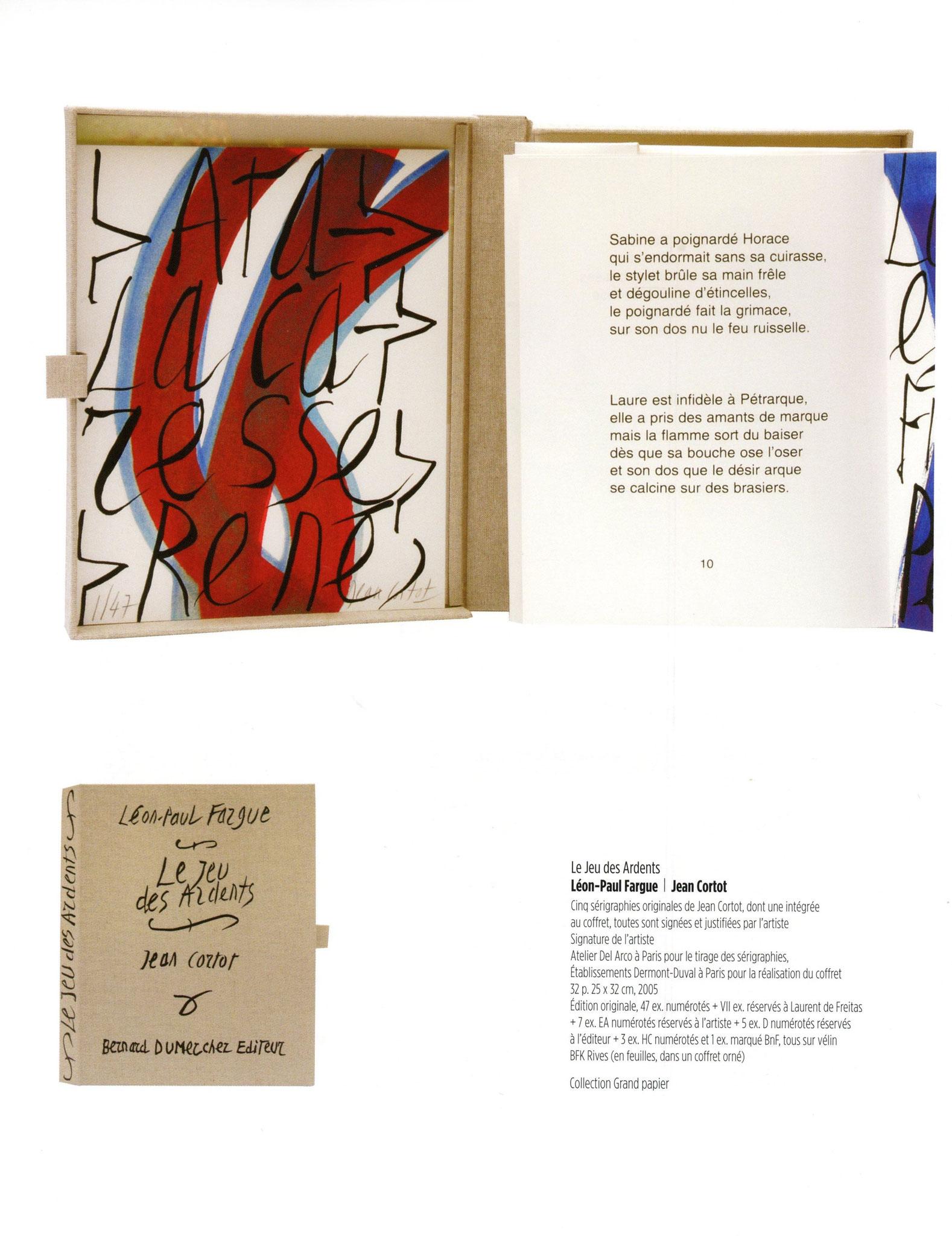 Le Jeu des Ardents - Léon-Paul Fargue / Jean Cortot