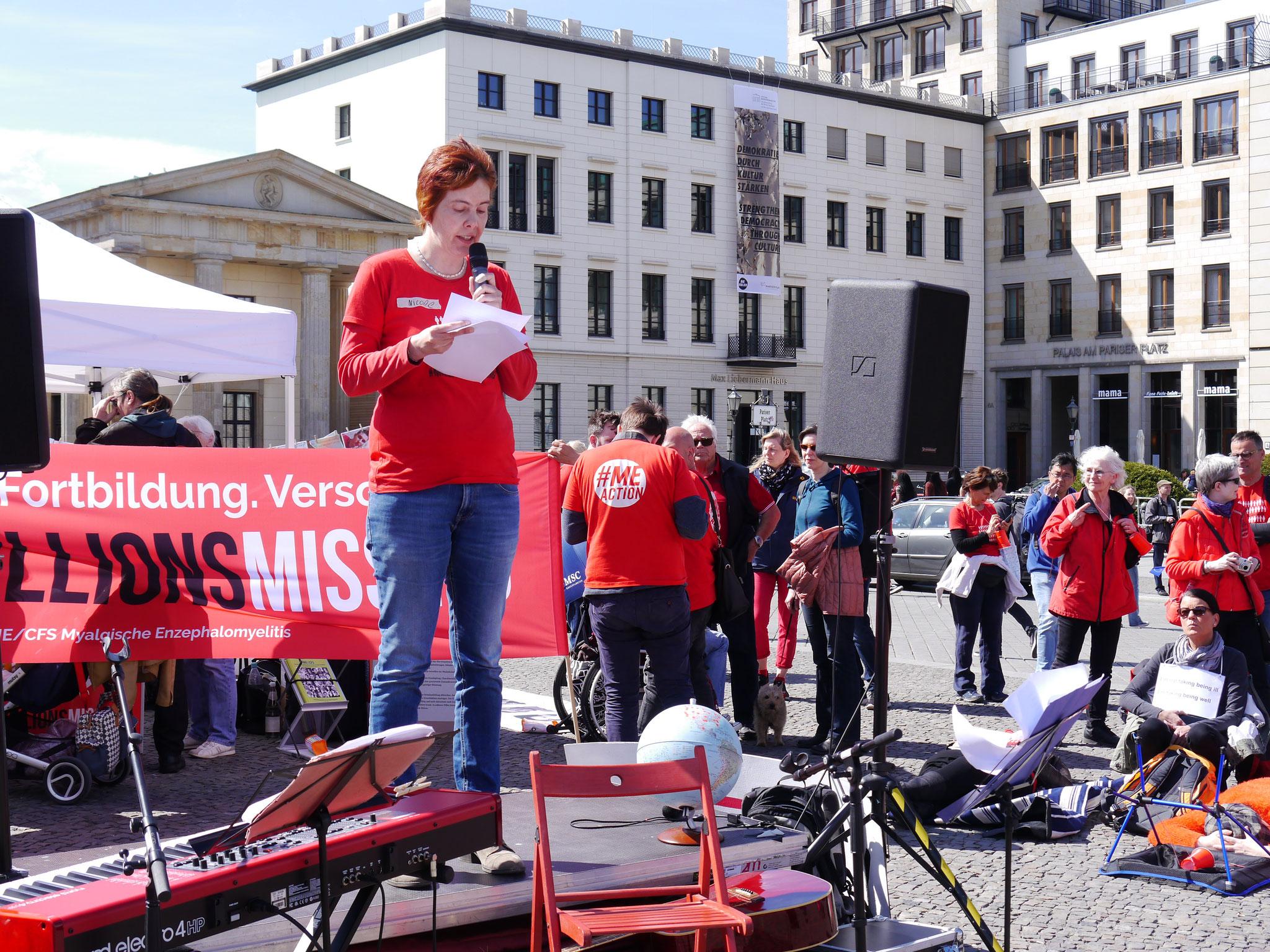 Rede von der Vorsitzenden Nicole Krüger | Lost Voices Stiftung