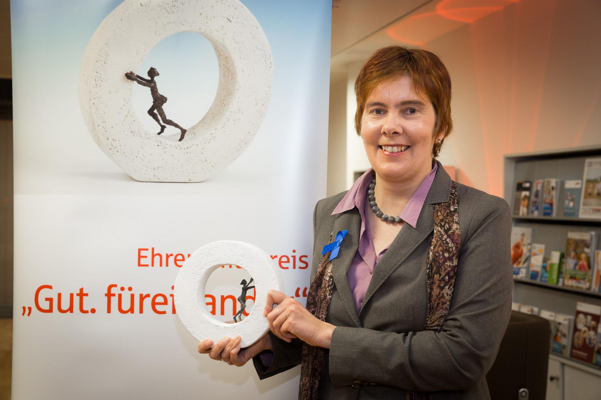Nicole Krüger 2. Platz besonderes Engagement