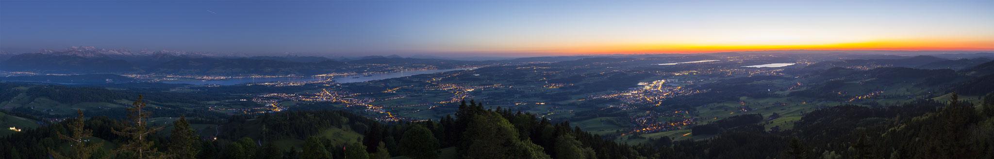 Bachtel during Sunset