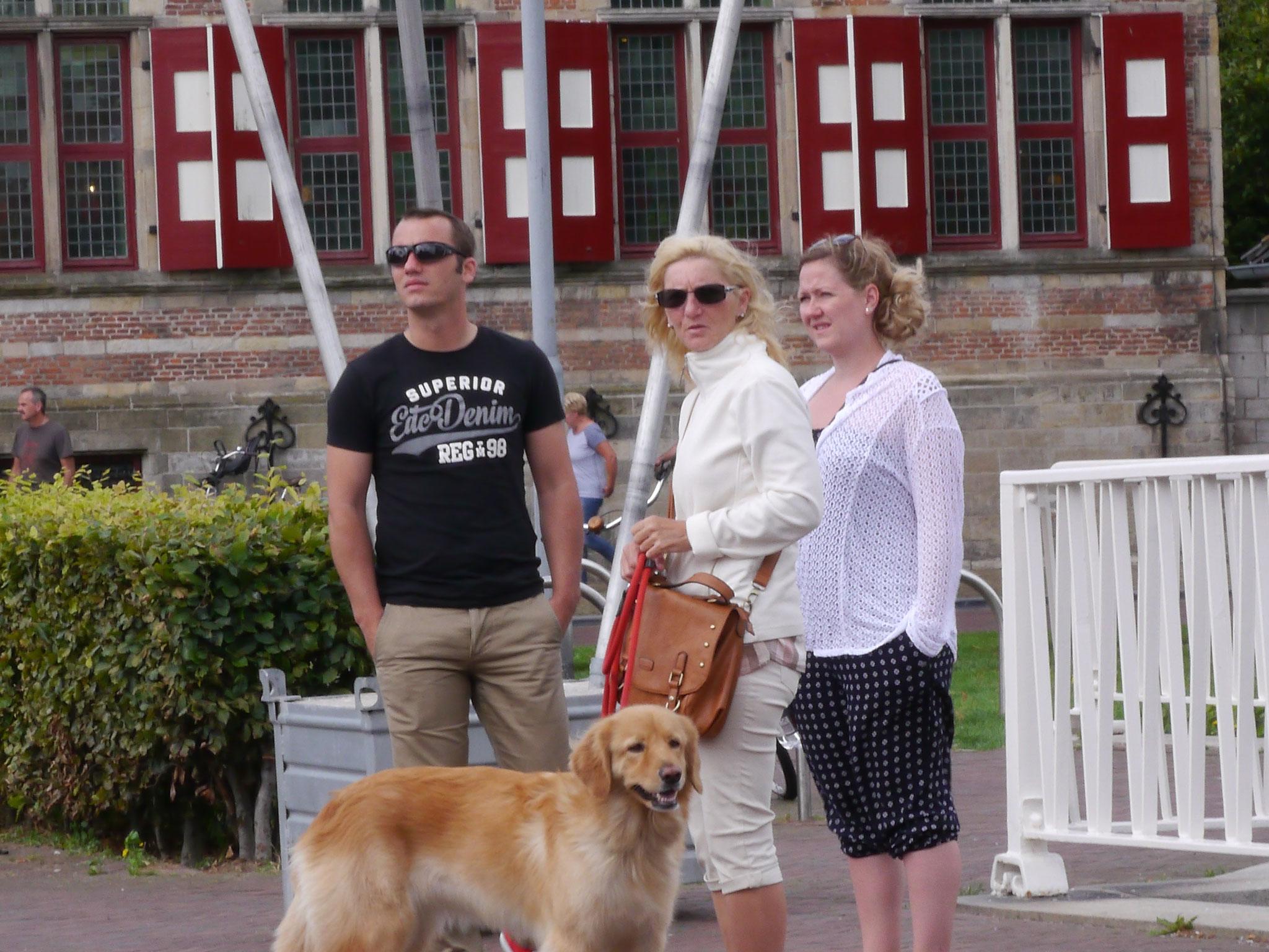 Stadtbesichtigung in Middelbourg mit den Zweibeinern