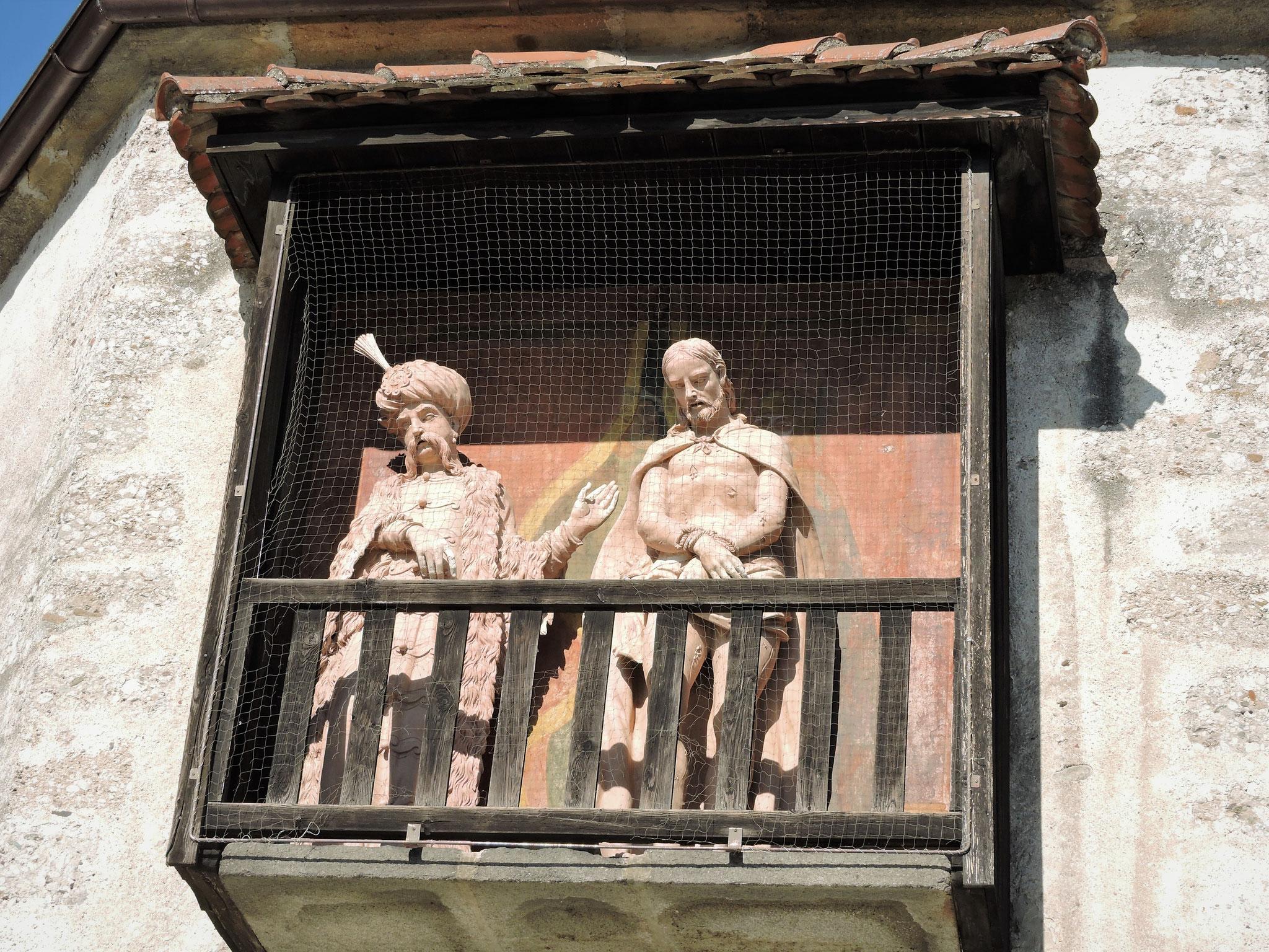 Ecce homo von 1690 - Pilatus als türkischer Großwesir ©B. Bichler