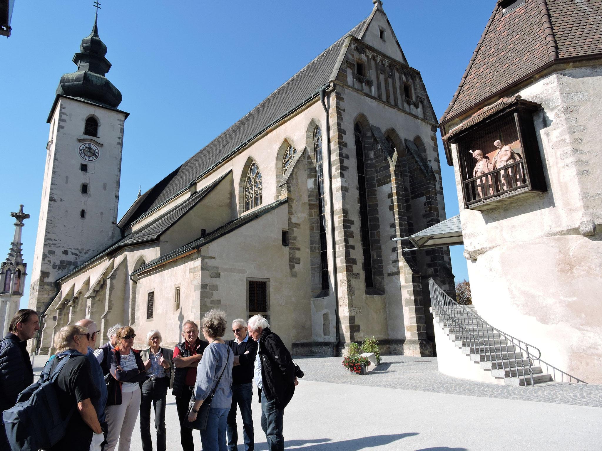 Die Basilika St. Laurenz ©B. Bichler