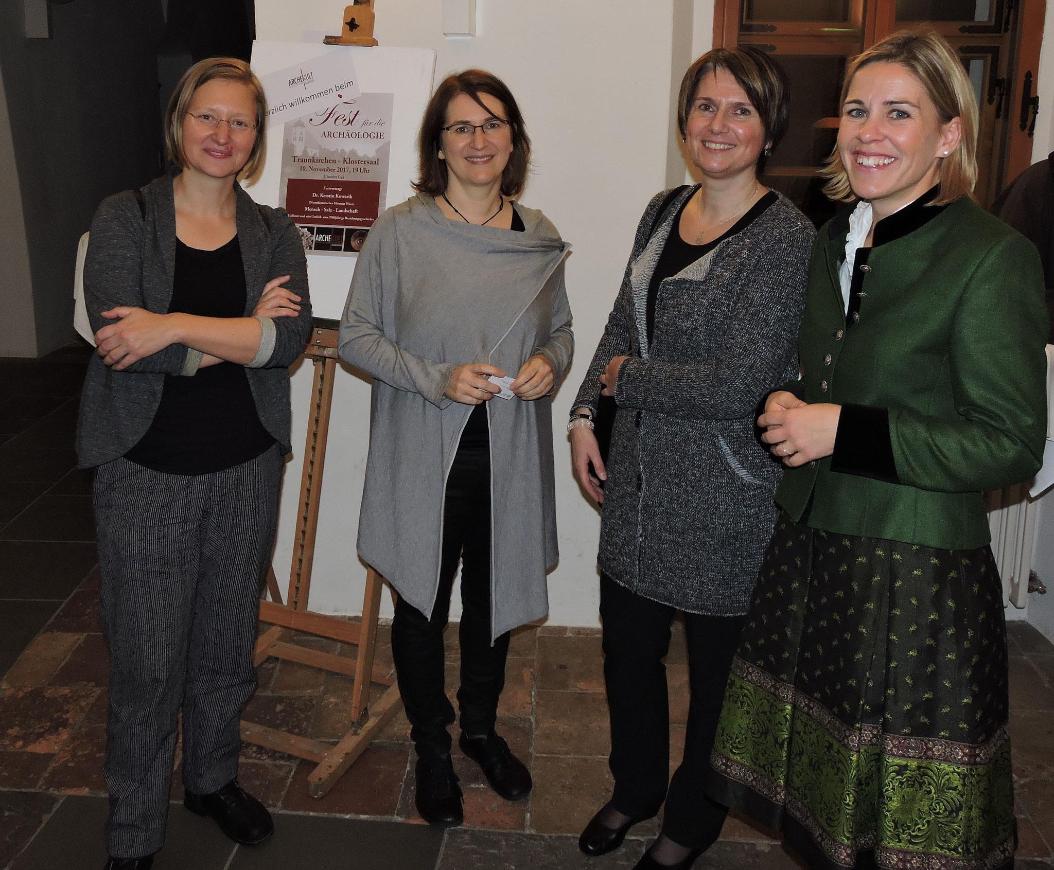Kerstin Kowarik, Beate Kirchner, Sonja Hofer, Iris Wolf ©B. Bichler