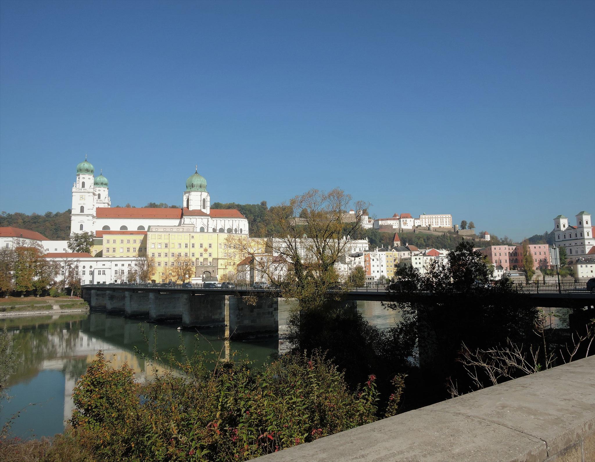 Blick auf die schöne Barockstadt Passau ©B. Bichler