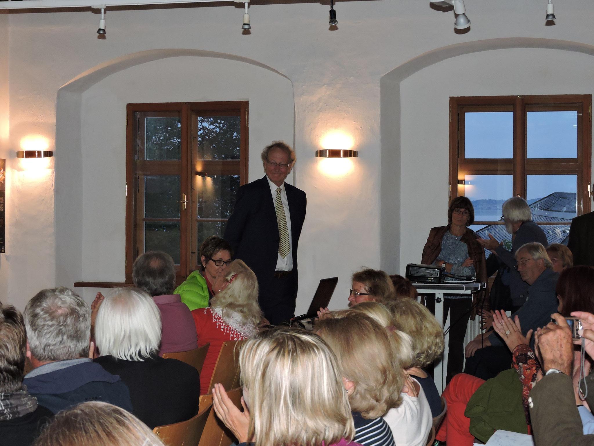 ...bei dem abschließenden Vortrag ©B. Bichler
