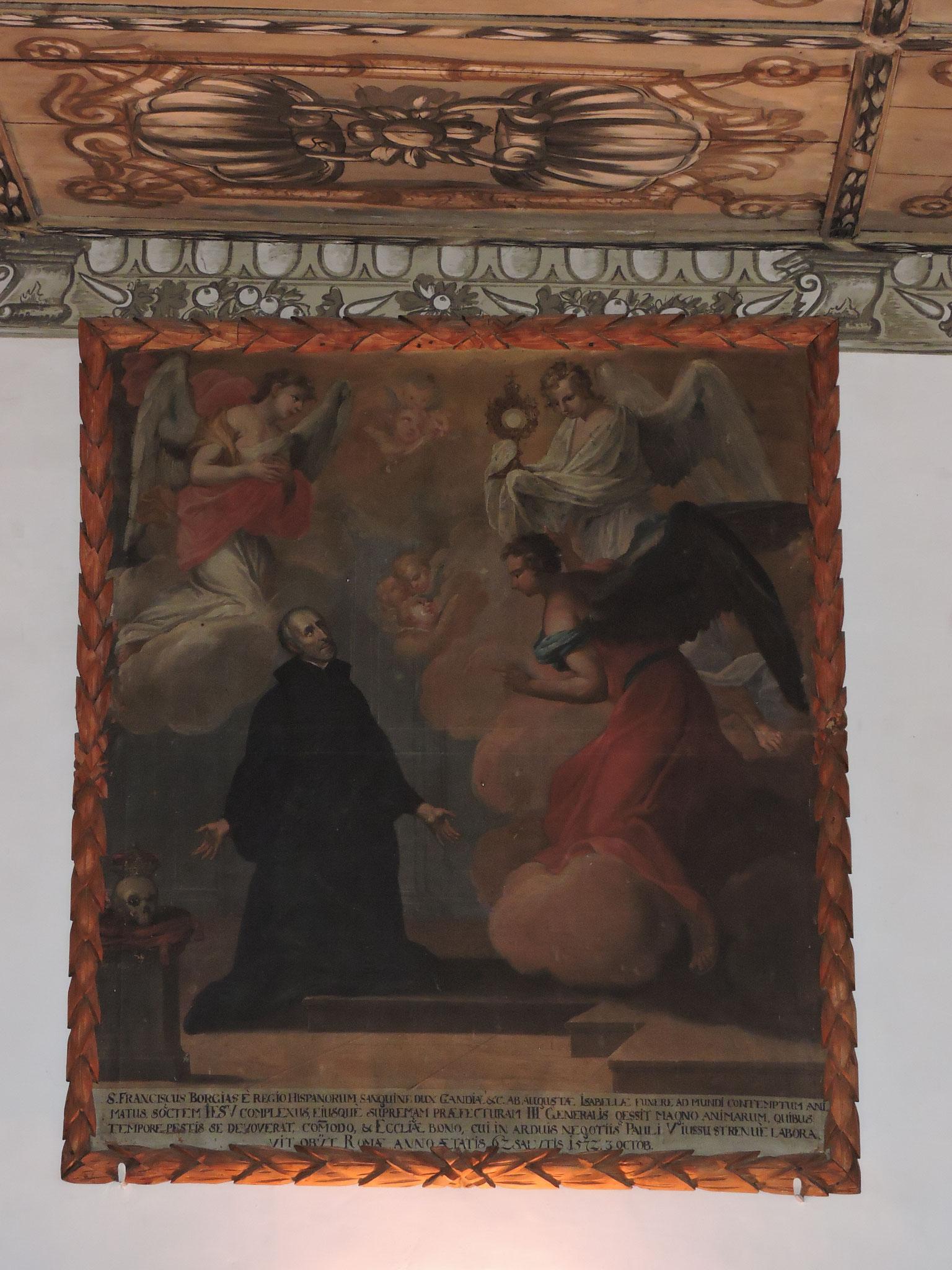 Altes Jesuitenbild im Klostersaal ©B. Bichler