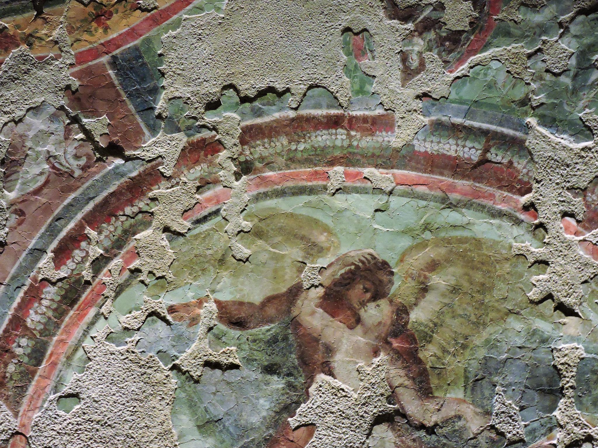 Deckenfresko mit mythologischer Szene ©B. Bichler