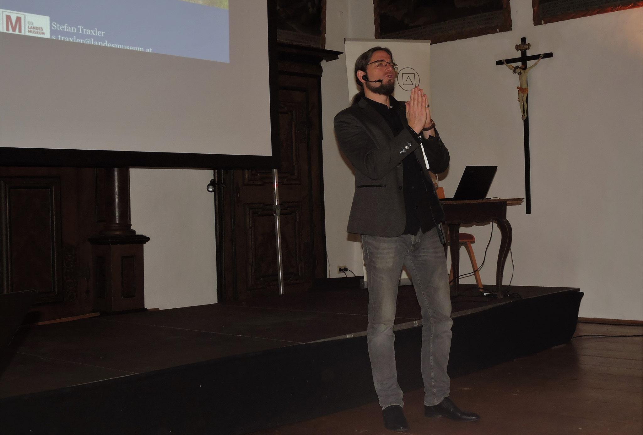 Sein energiegeladener Vortrag zog alle in seinen Bann ©B. Bichler