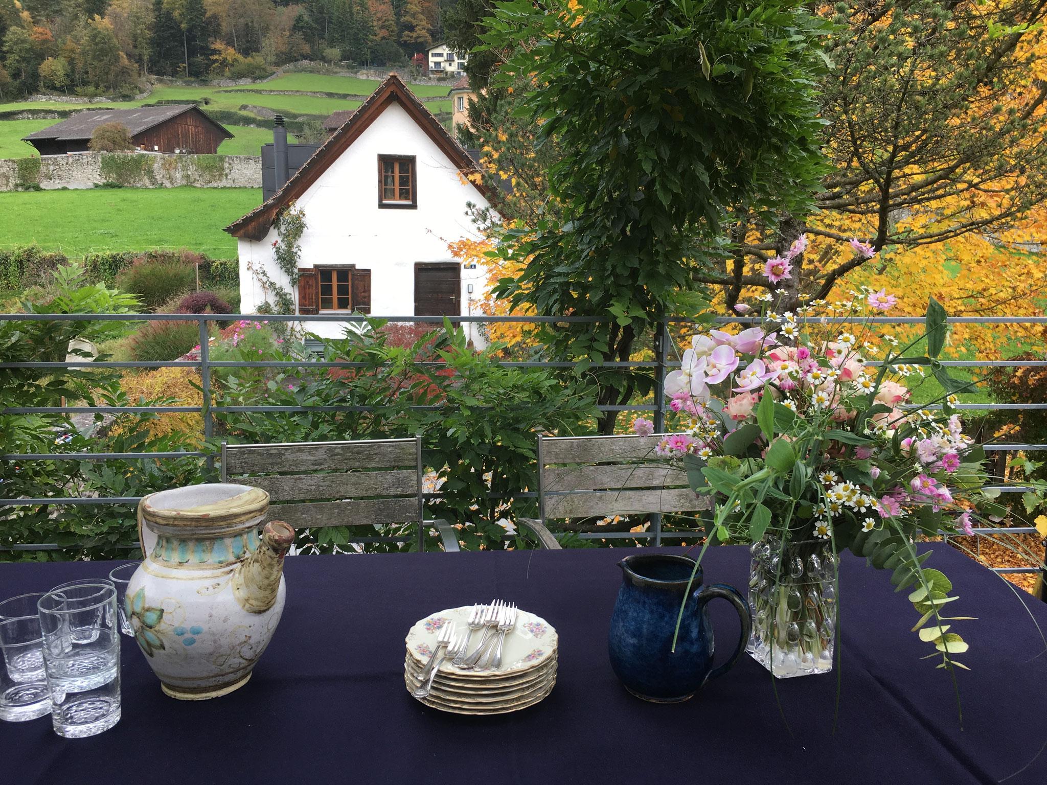 Gartenanlage in Altdorf