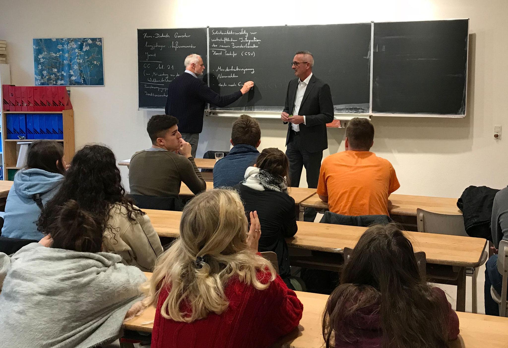 Besuch Waldorfschule Aachen