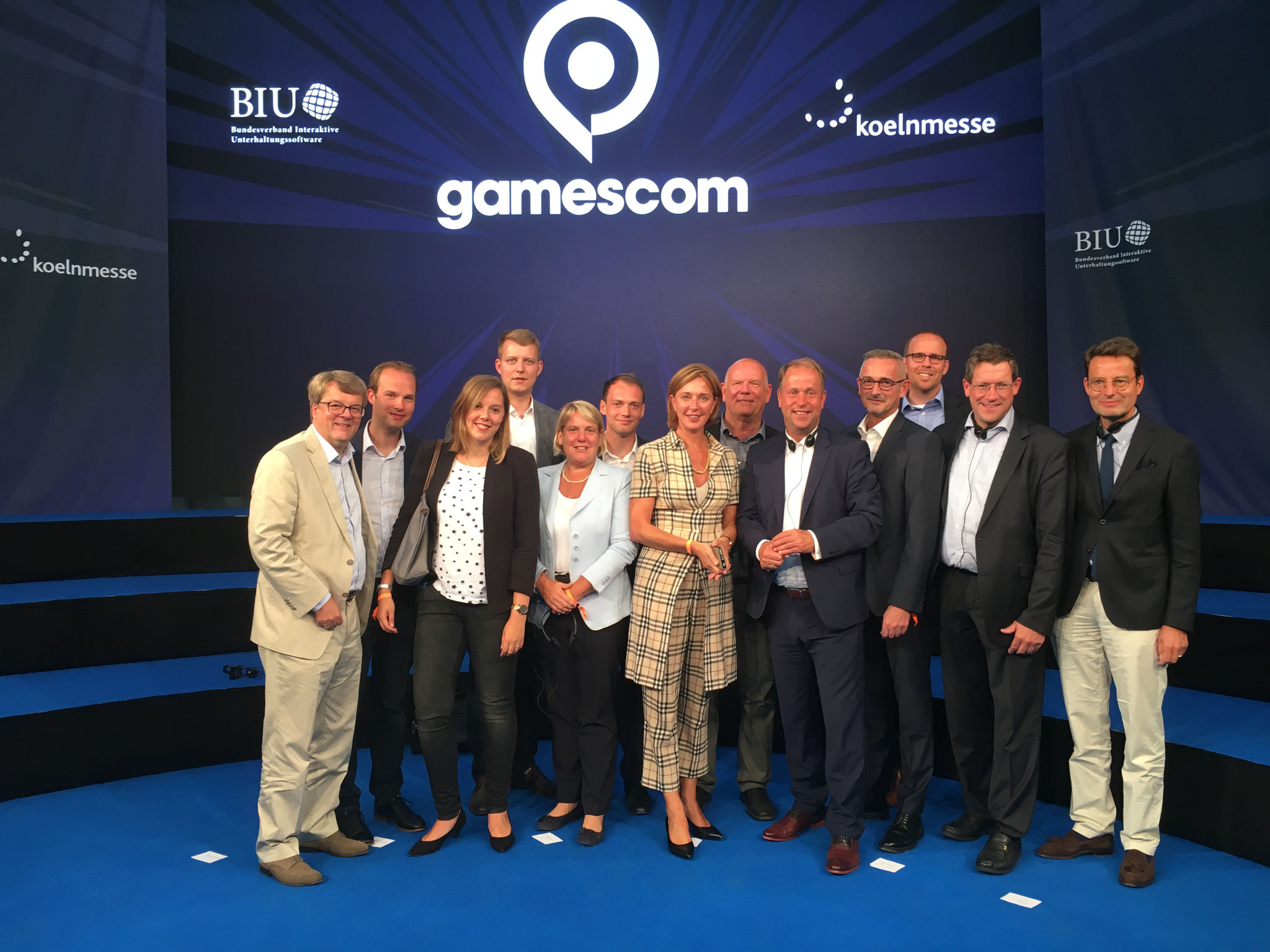 Besuch mit Fraktion auf der Gamescome