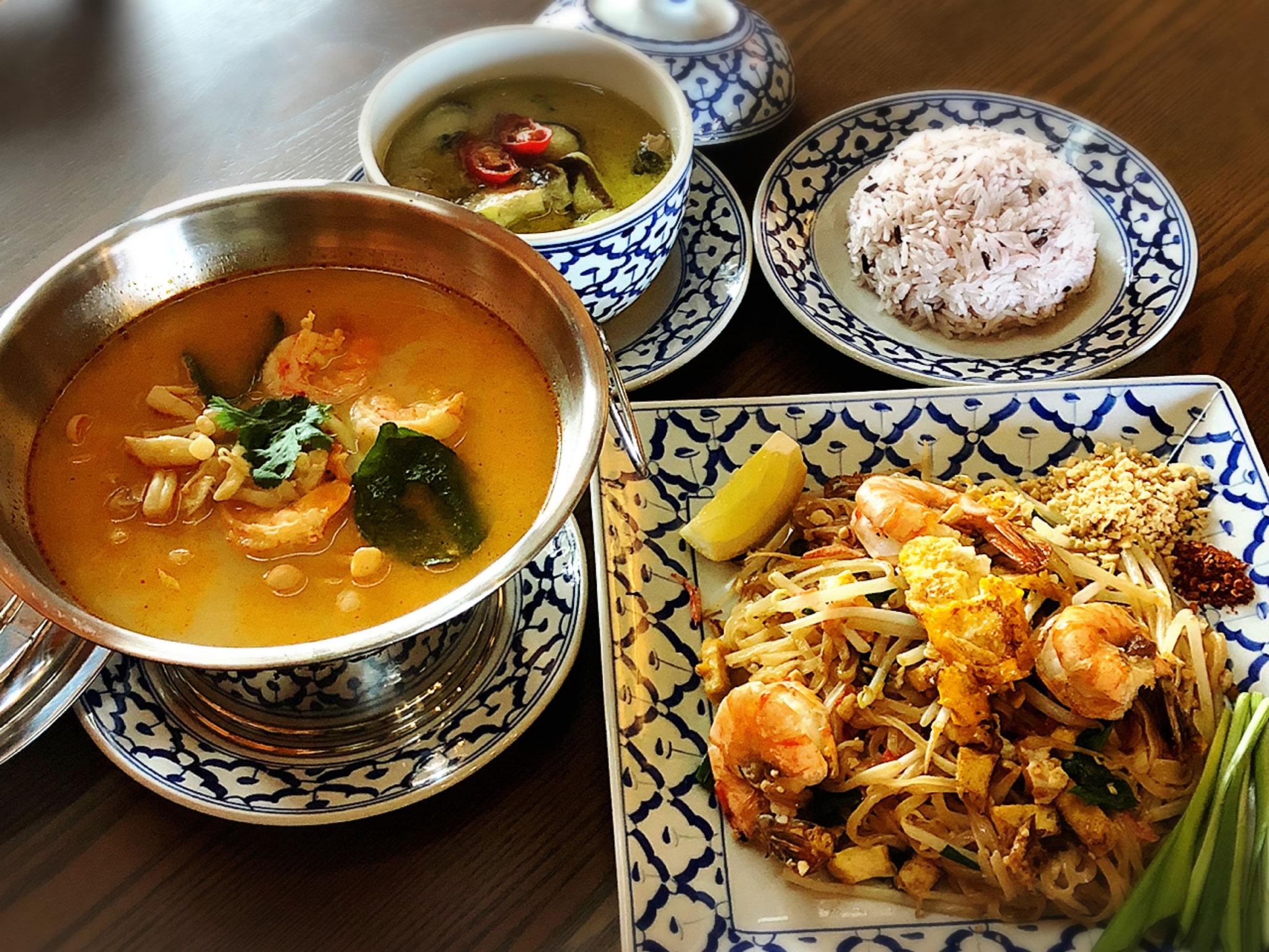 タイ政府認定「タイセレクト・プレミアム」の本物のタイ料理の味をお楽しみください