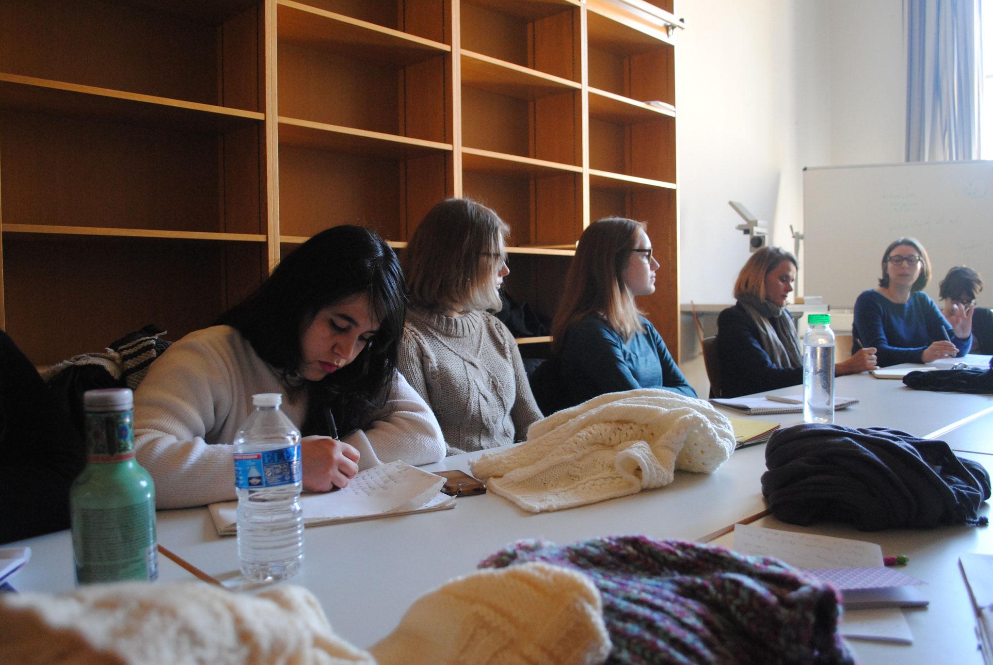 Workshop avec les munichois autour des Stolpersteine et des processus de la mémoire