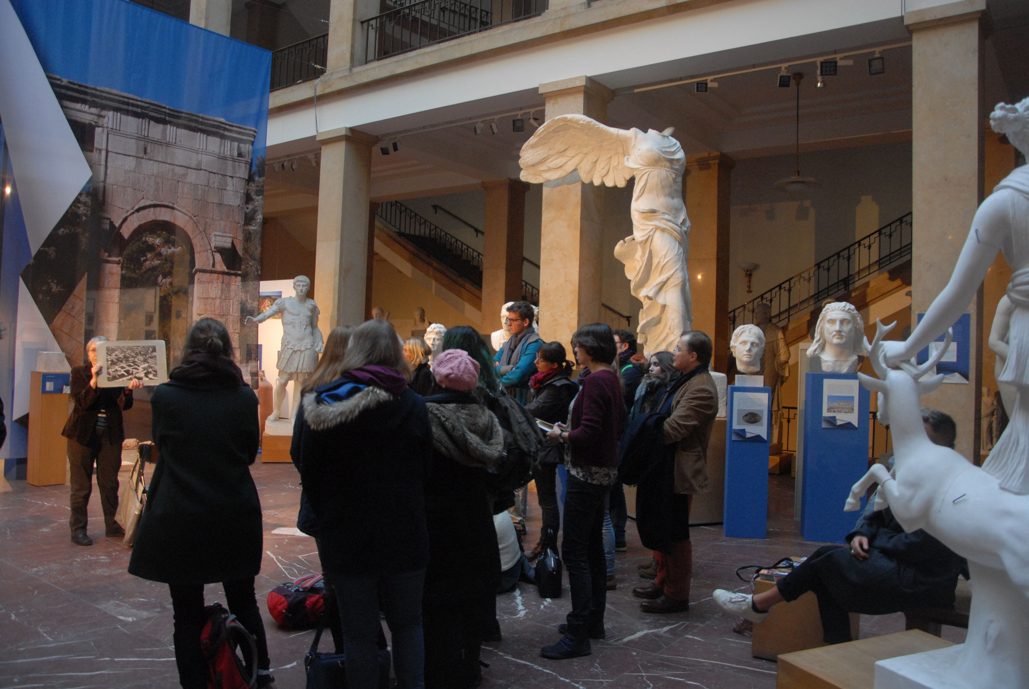 Visite guidée du Zentralinstitut für Kunstgeschichte....