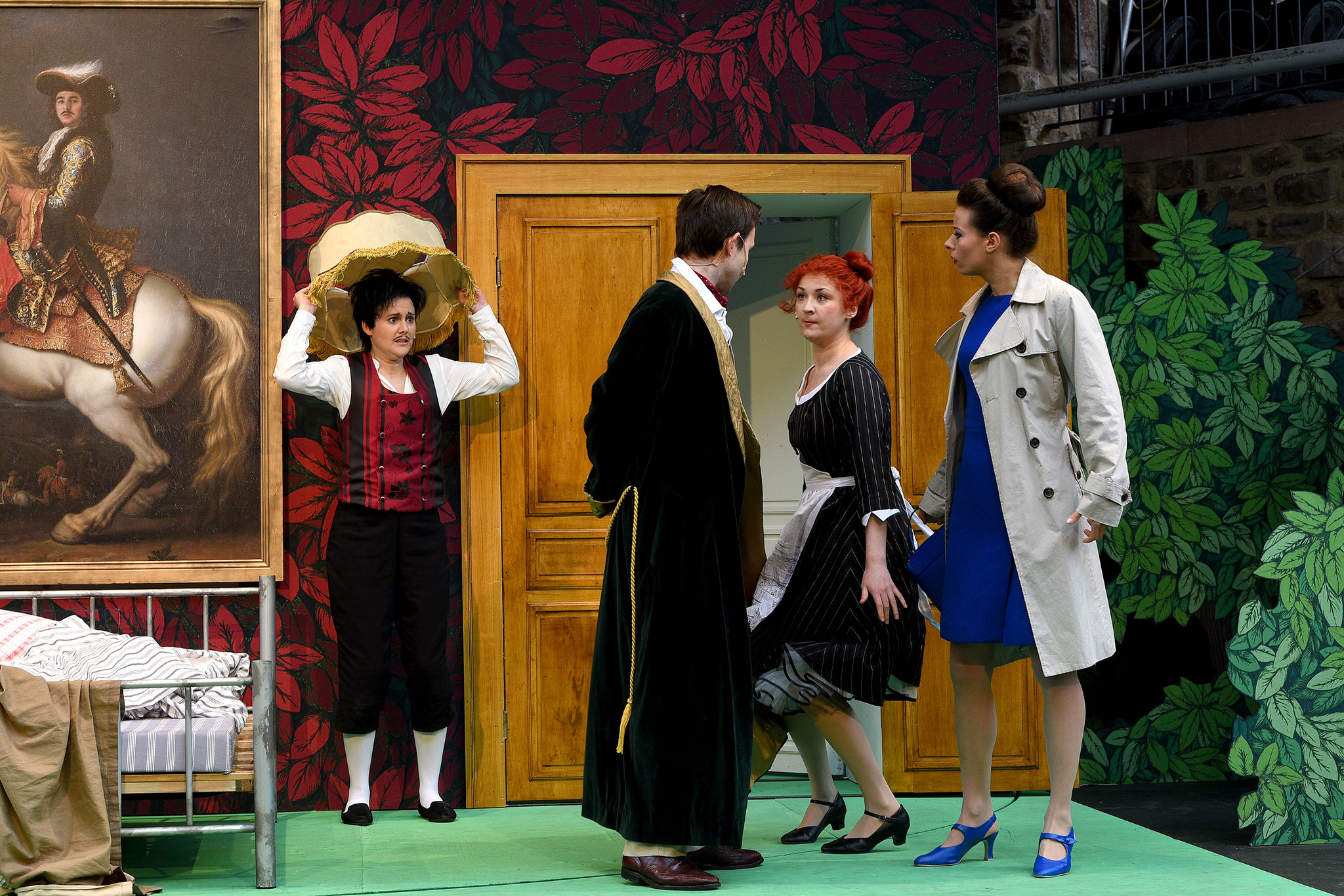 2017 Bad Vilbeler Burgfestspiele, Figaros Hochzeit, Foto: Eugen Sommer