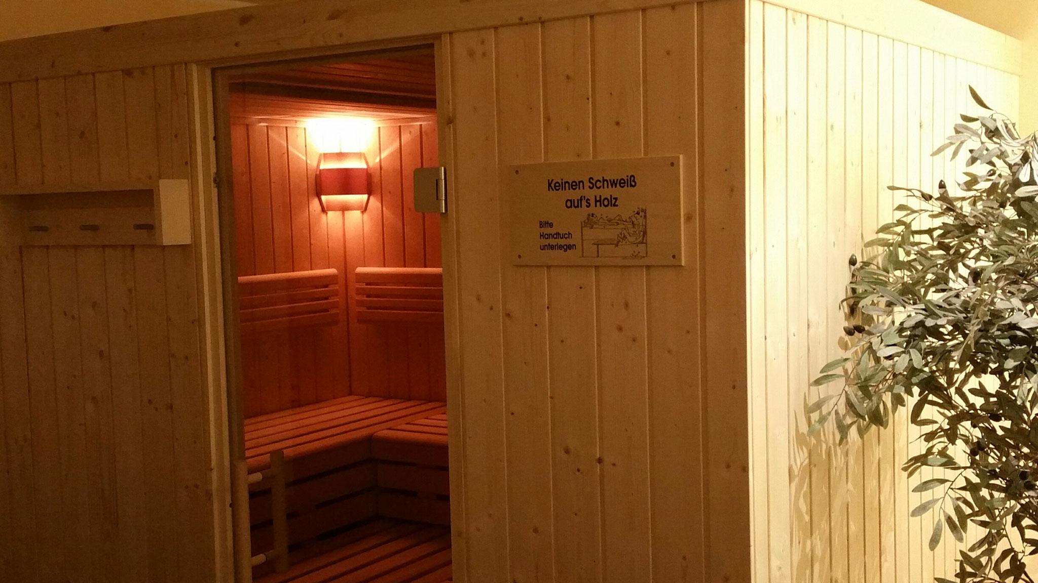 Sauna außen