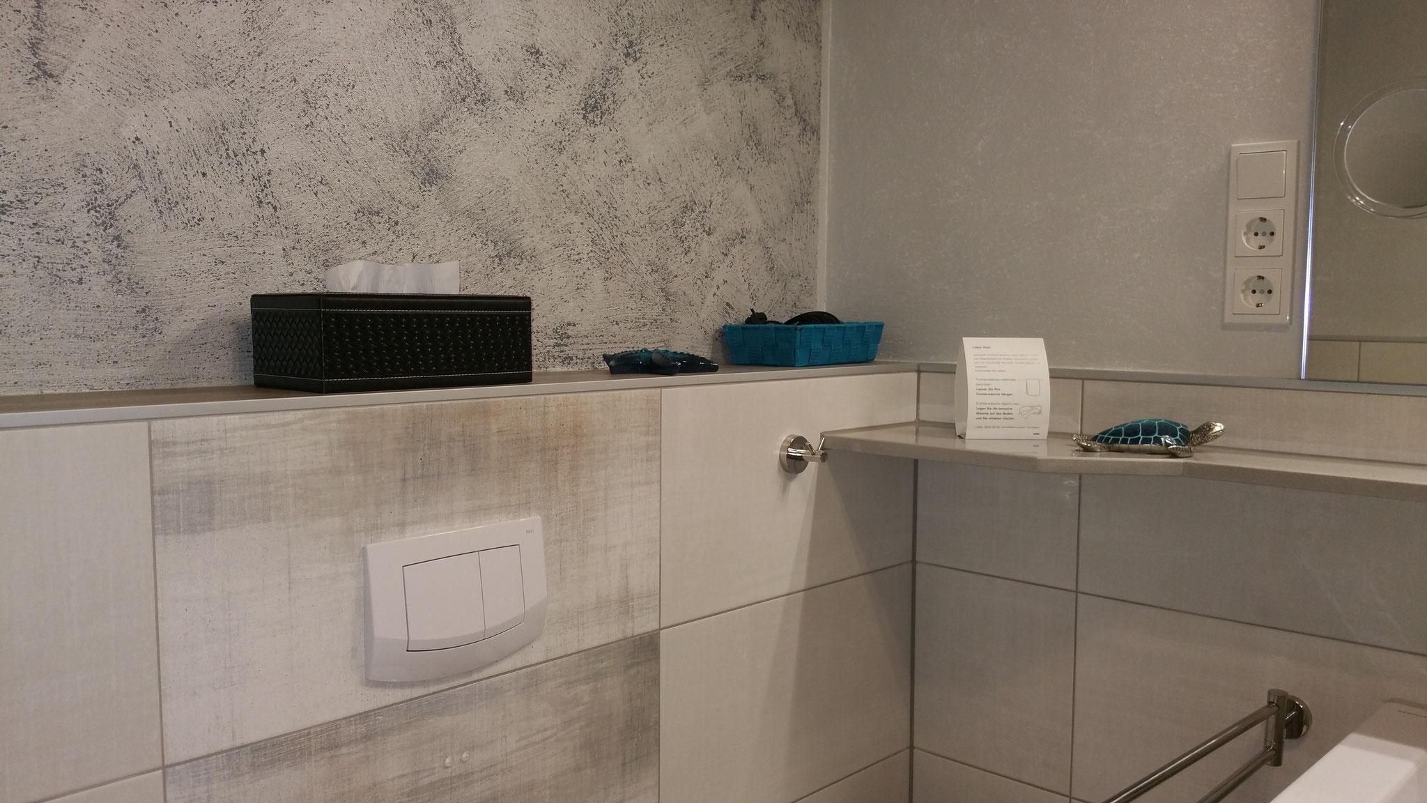 Bad Deluxe Zimmer 2 - ... liebevolle Details!