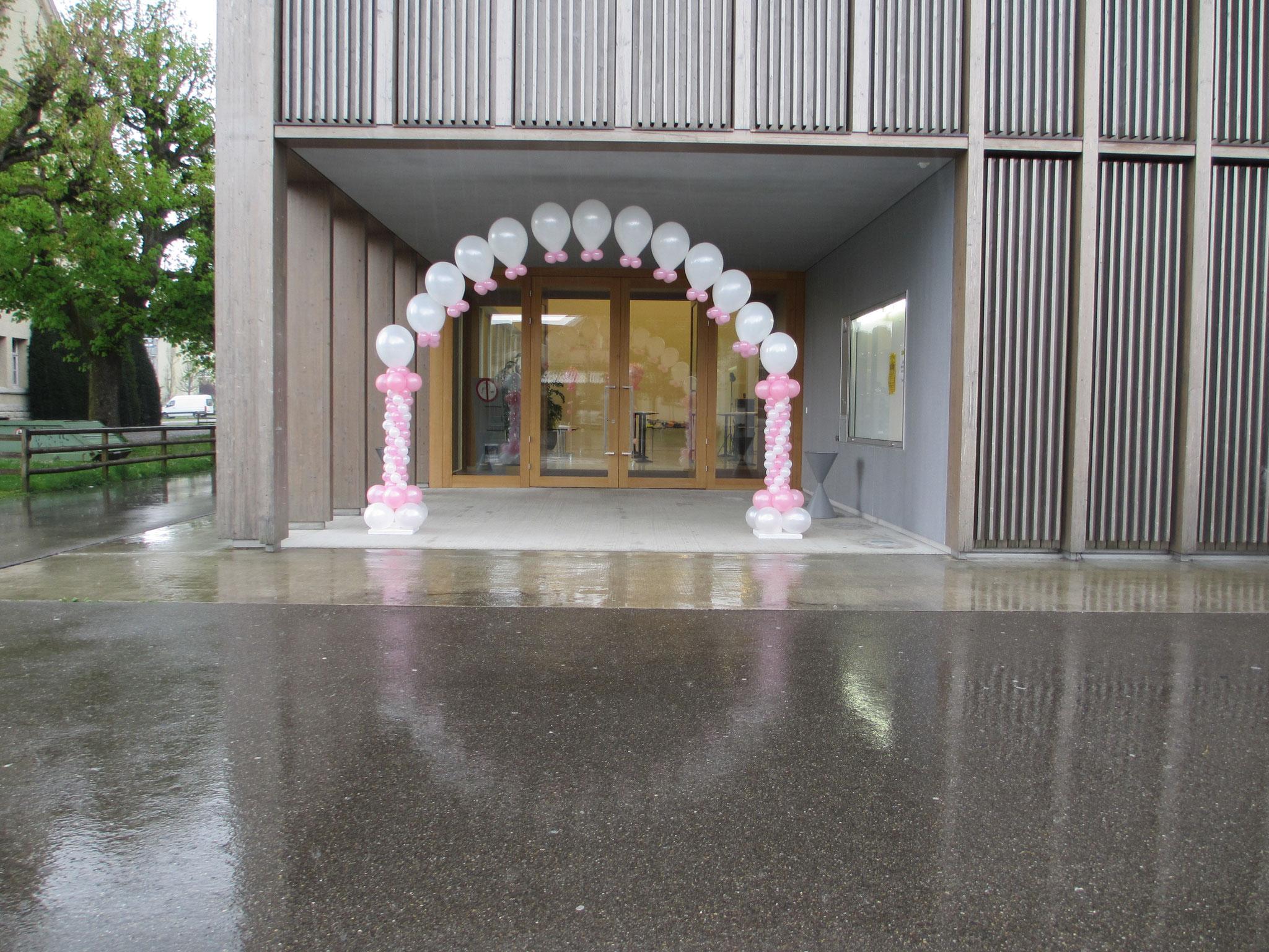 Eingang zum Festsaal